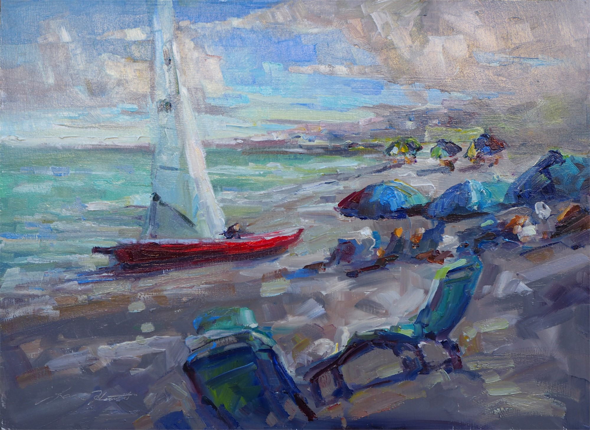 Sailing Days by Karen Hewitt Hagan