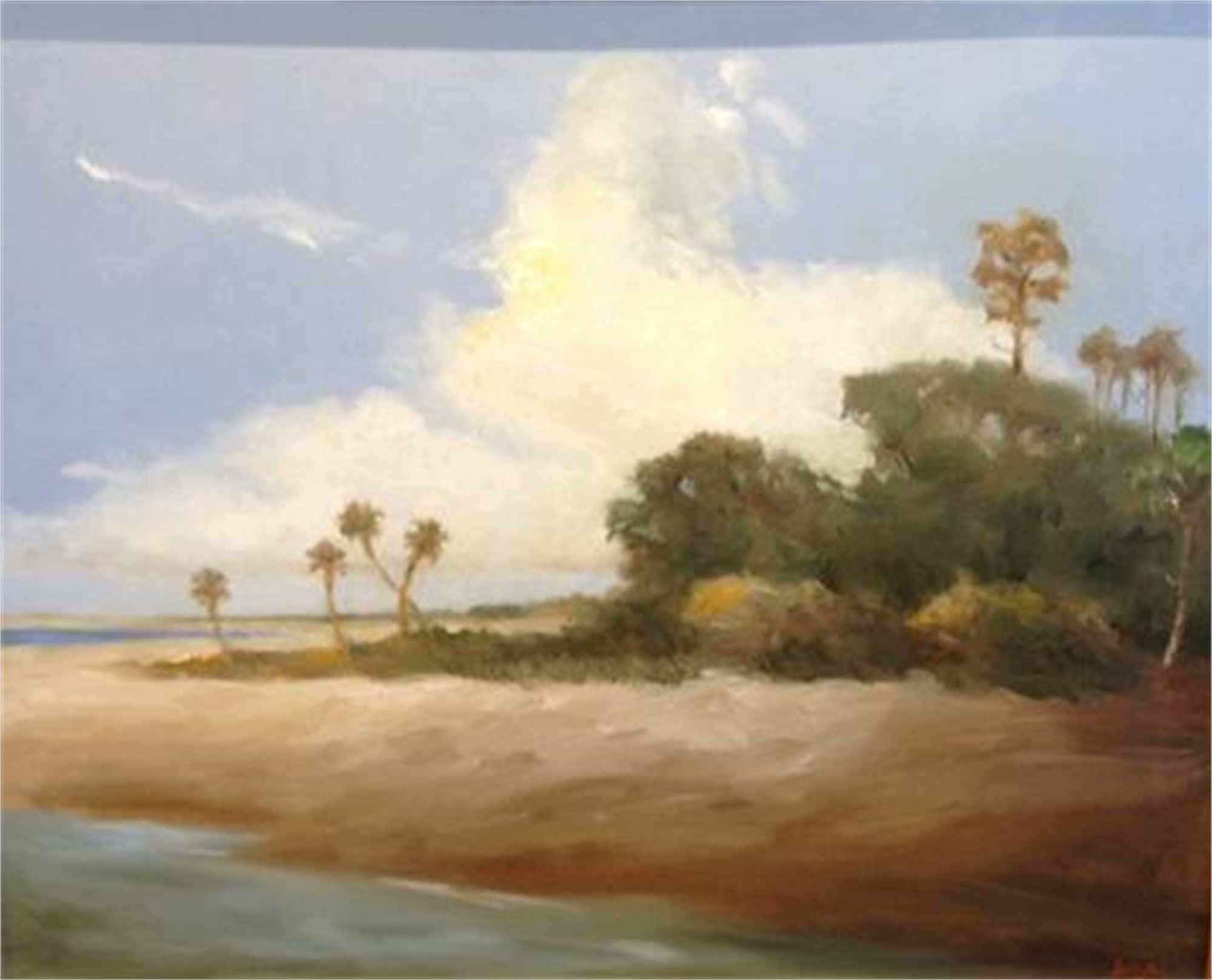 Edge of the Island-Summer by Jim Darlington