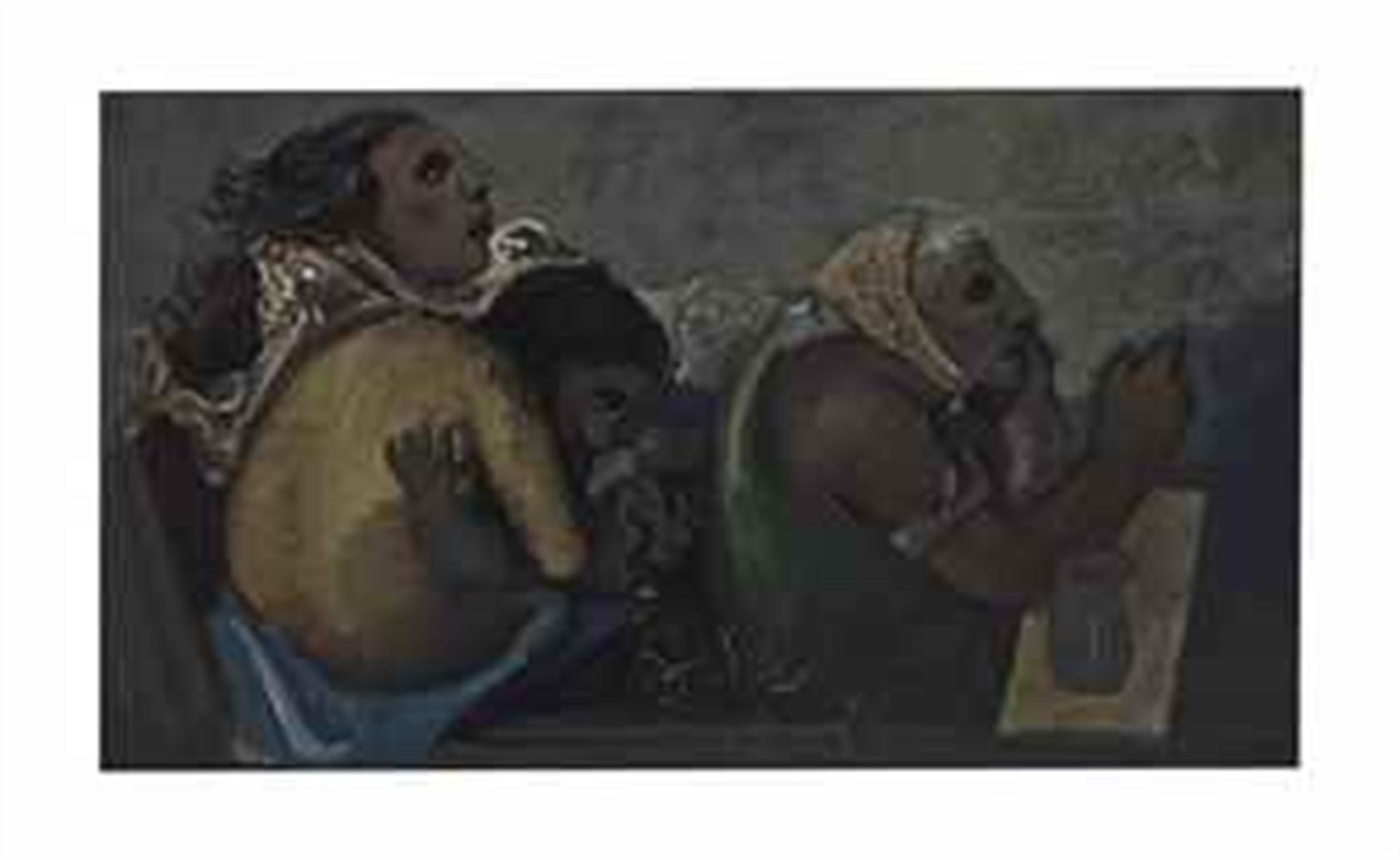THREE WOMEN by Pierre Tal-Coat