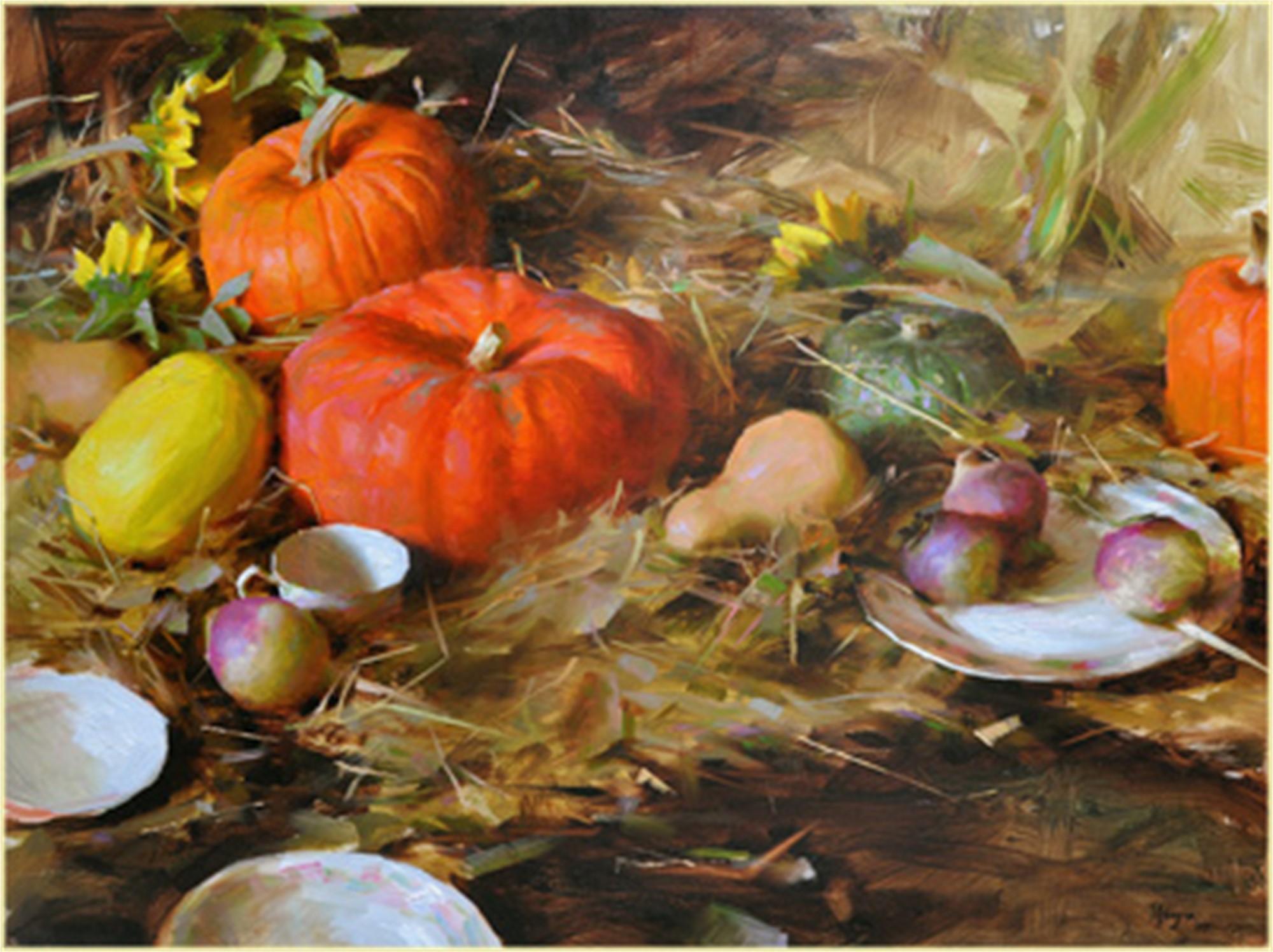 Autumn Still Life by Daniel Keys