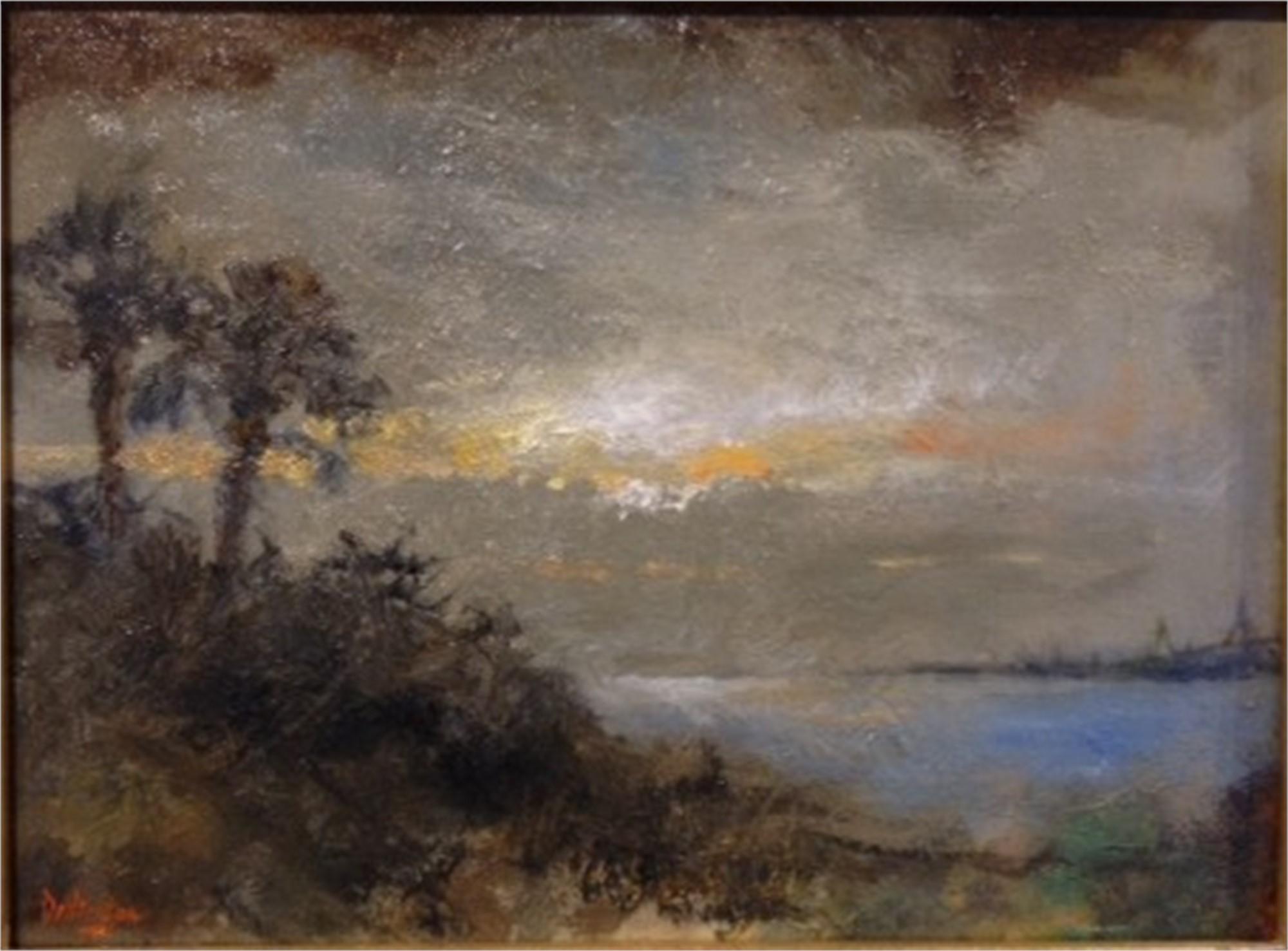 View of Charleston Harbor by Jim Darlington