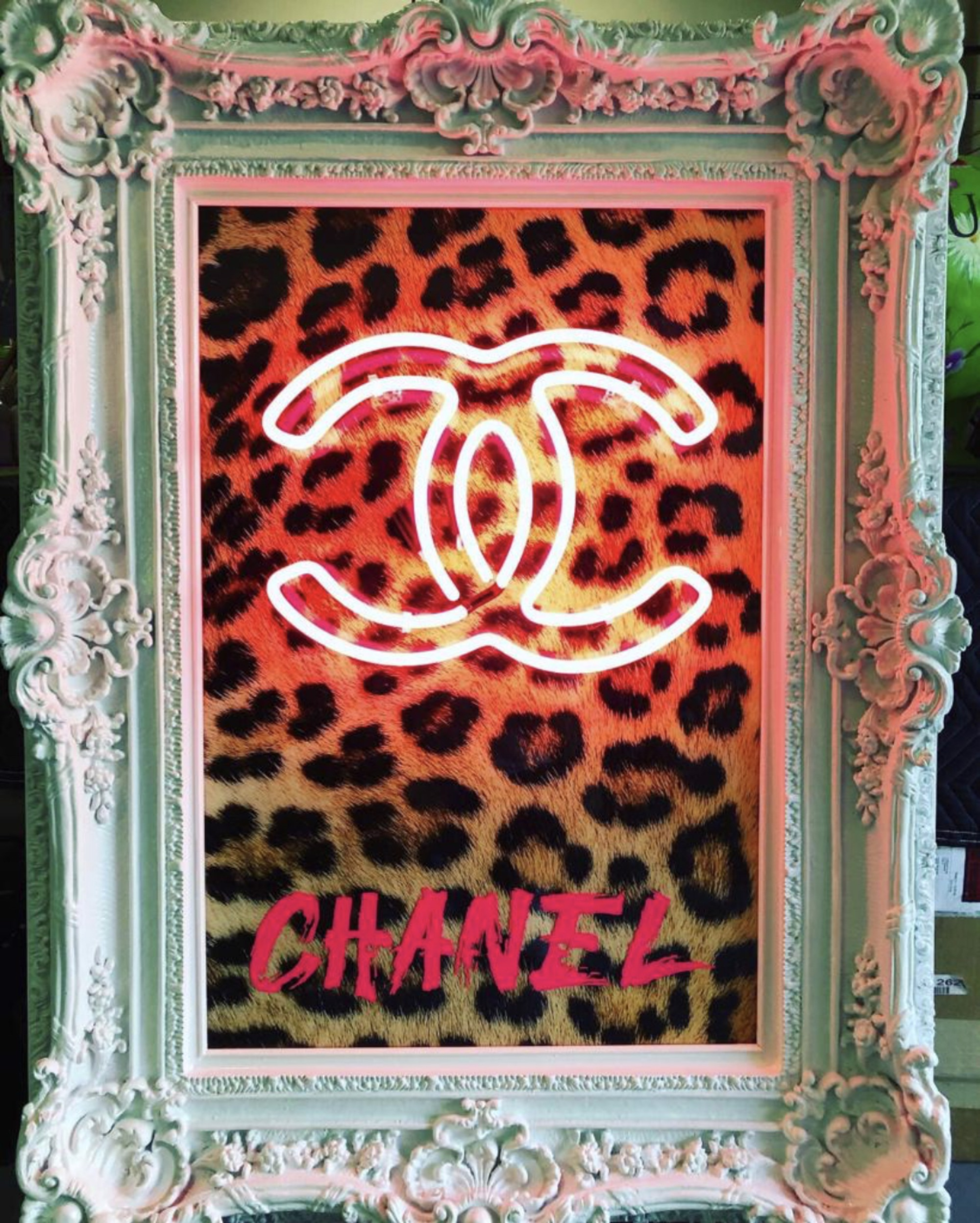 Chanel Leopard by Behind Pink Walls