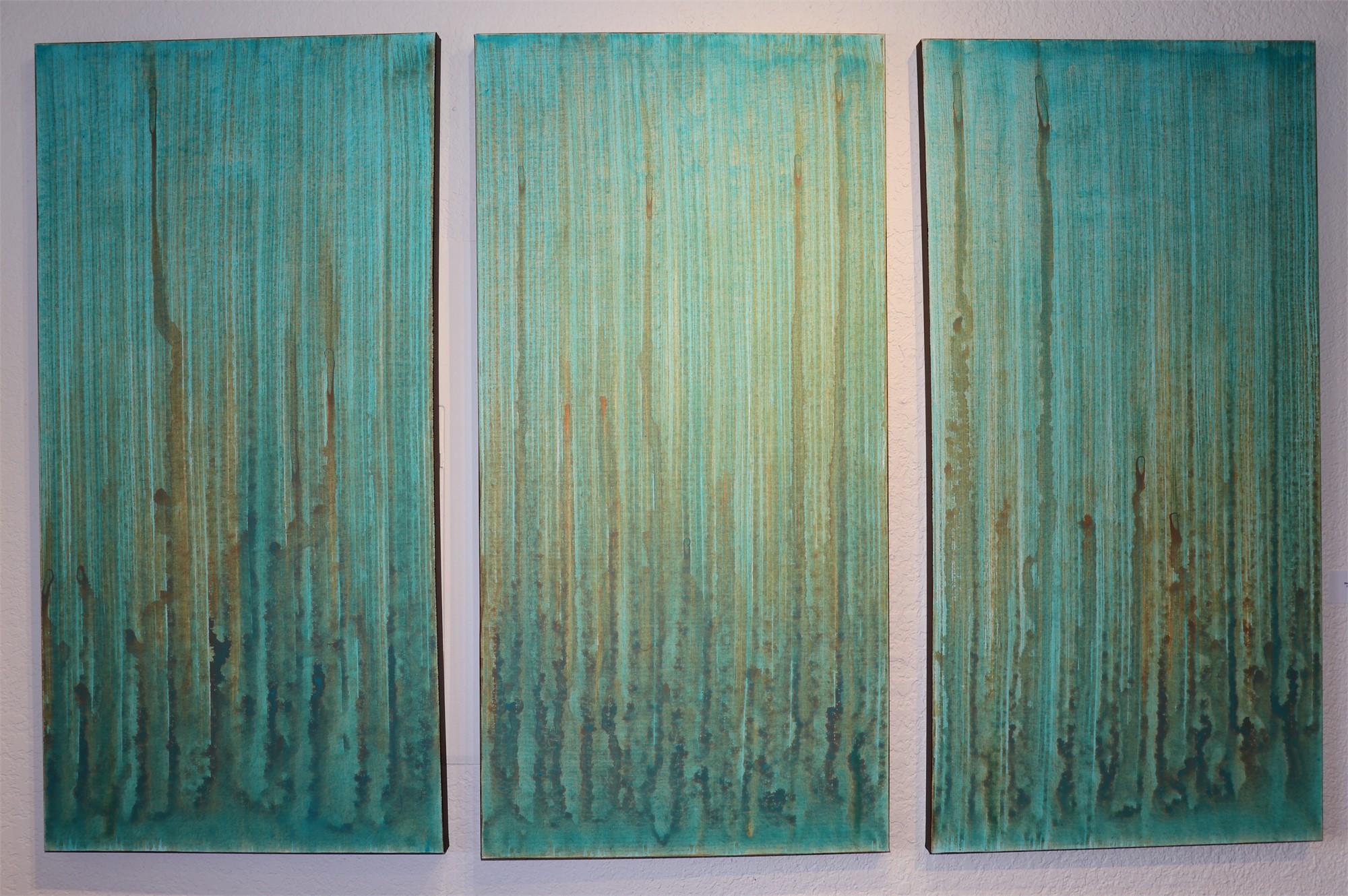 Rising Mist Triptych by Steven Anton Rehage