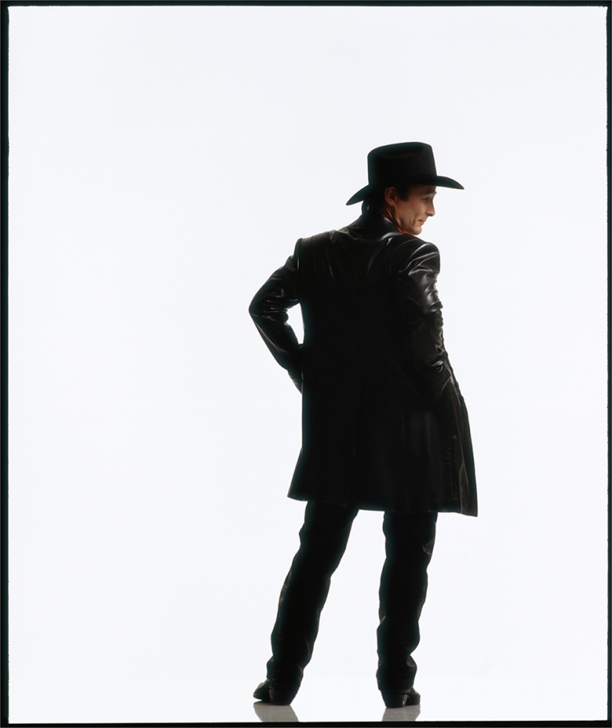 99039 Clint Black on White Seamless Color by Timothy White