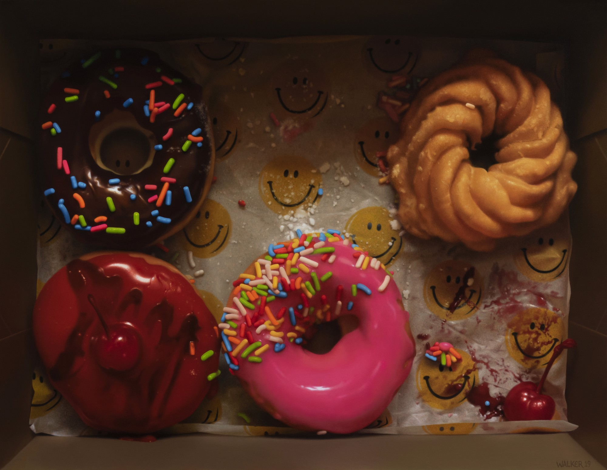 Donut Happy by Jason Walker