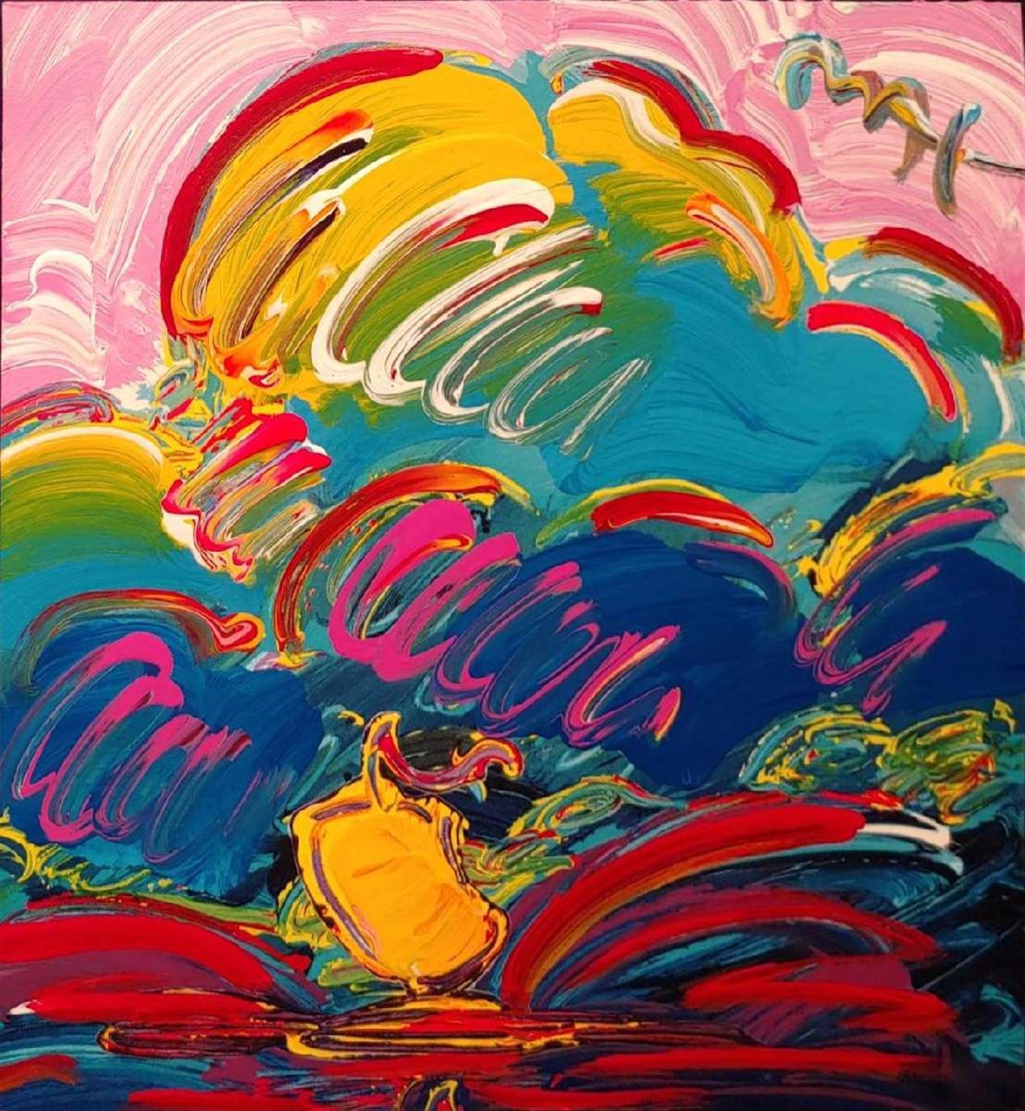 RETRO: SAMURAI SAIL by Peter Max