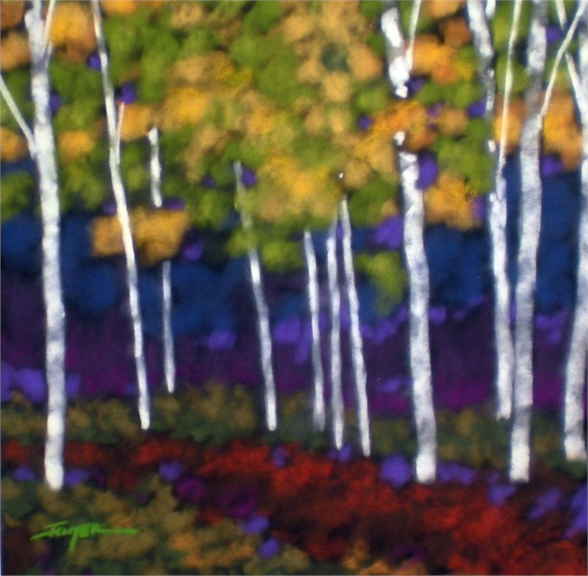 Aspen Glow by Bob Ichter