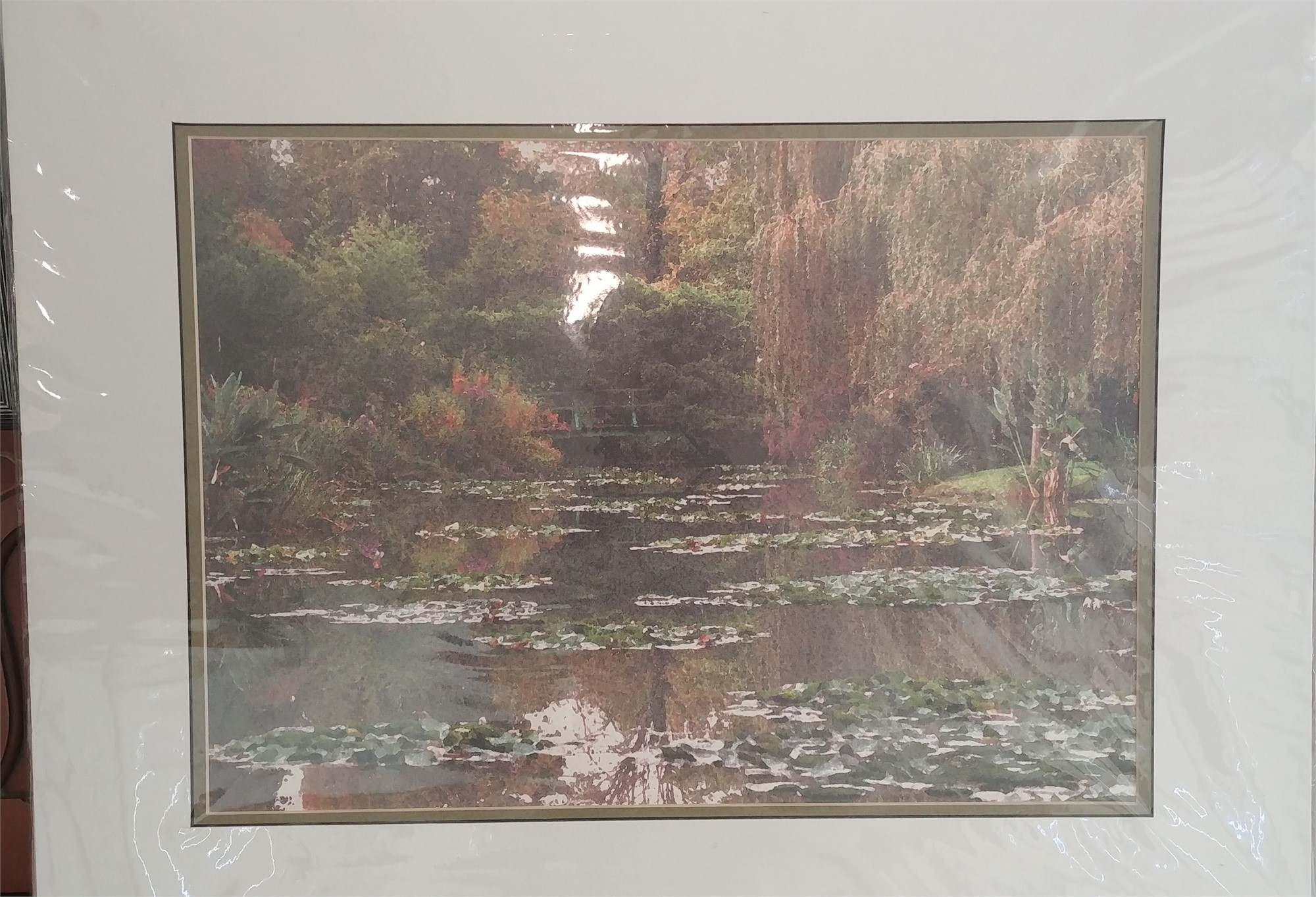 Monet's Pond by Mary Volm (Carlton, OR)