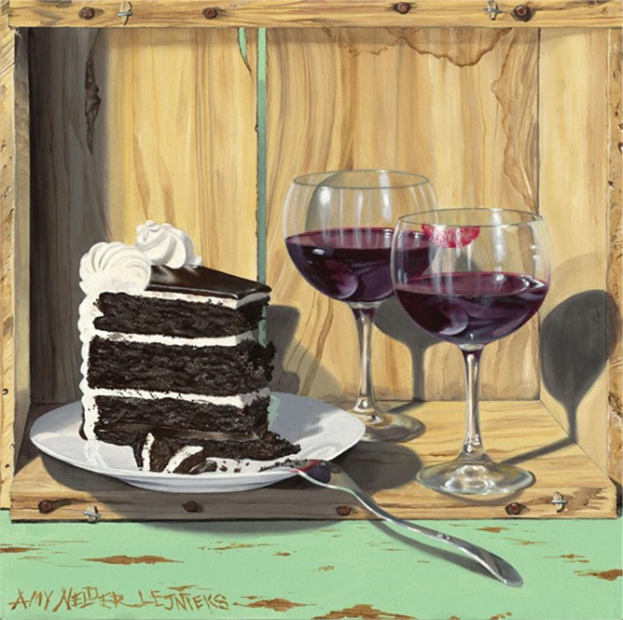 Cake Interrupted by Amy Nelder