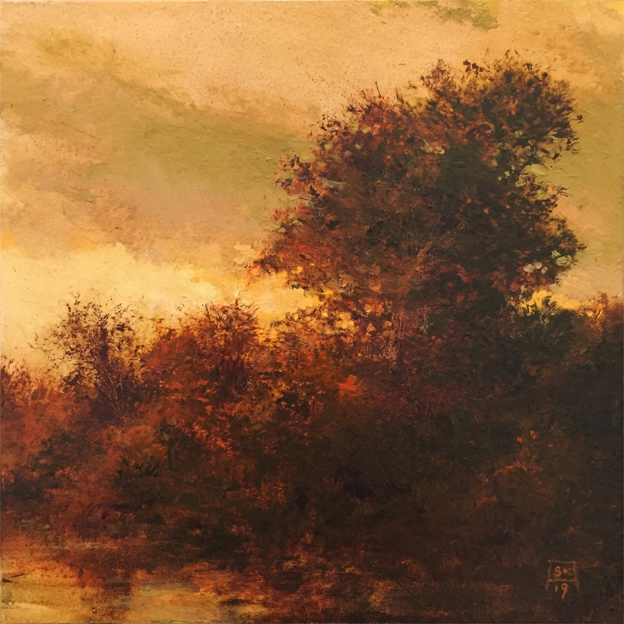 Evening (Ode to F. W. Kost) by Shawn Krueger
