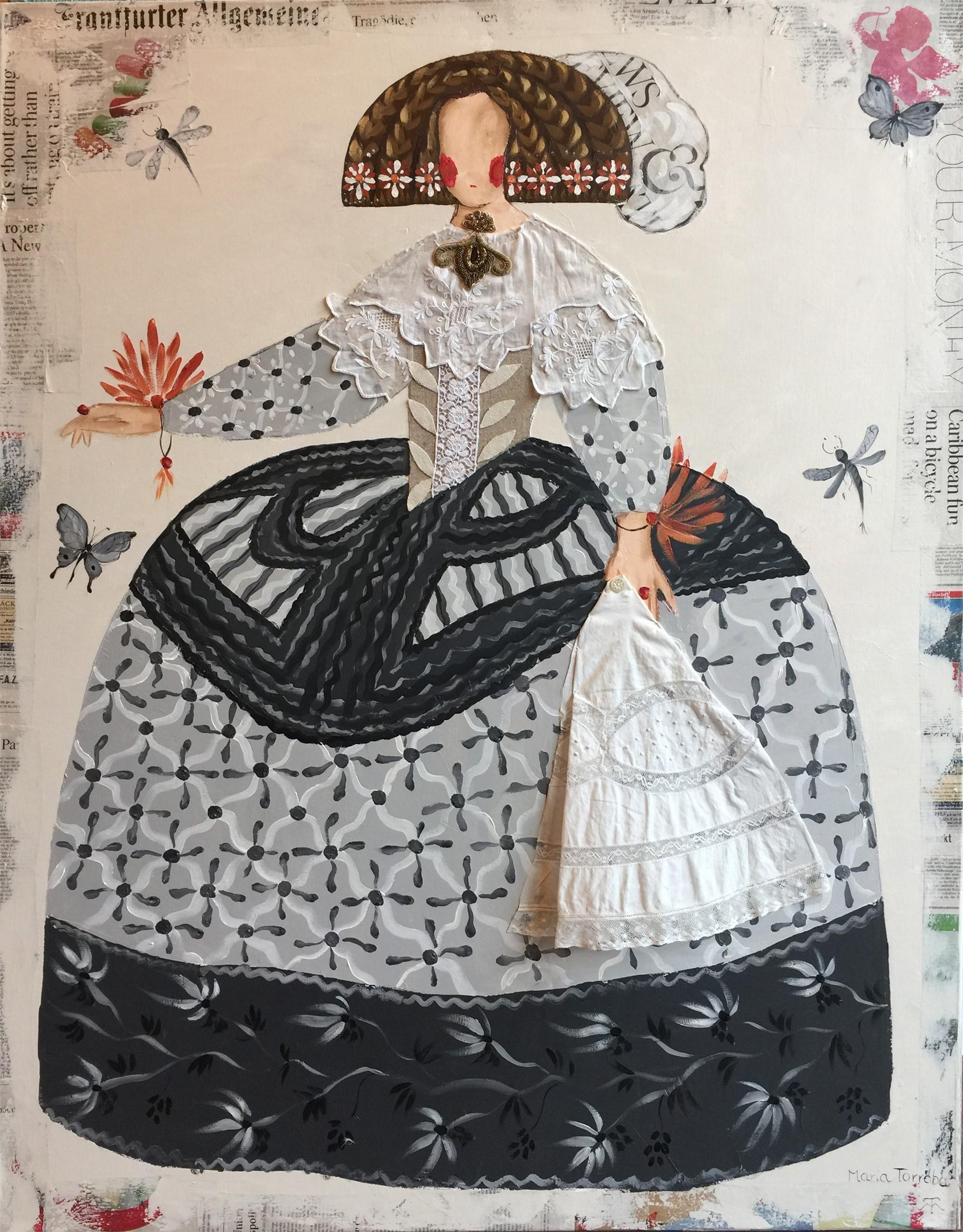 Mariana Grey Serie by Maria Torroba