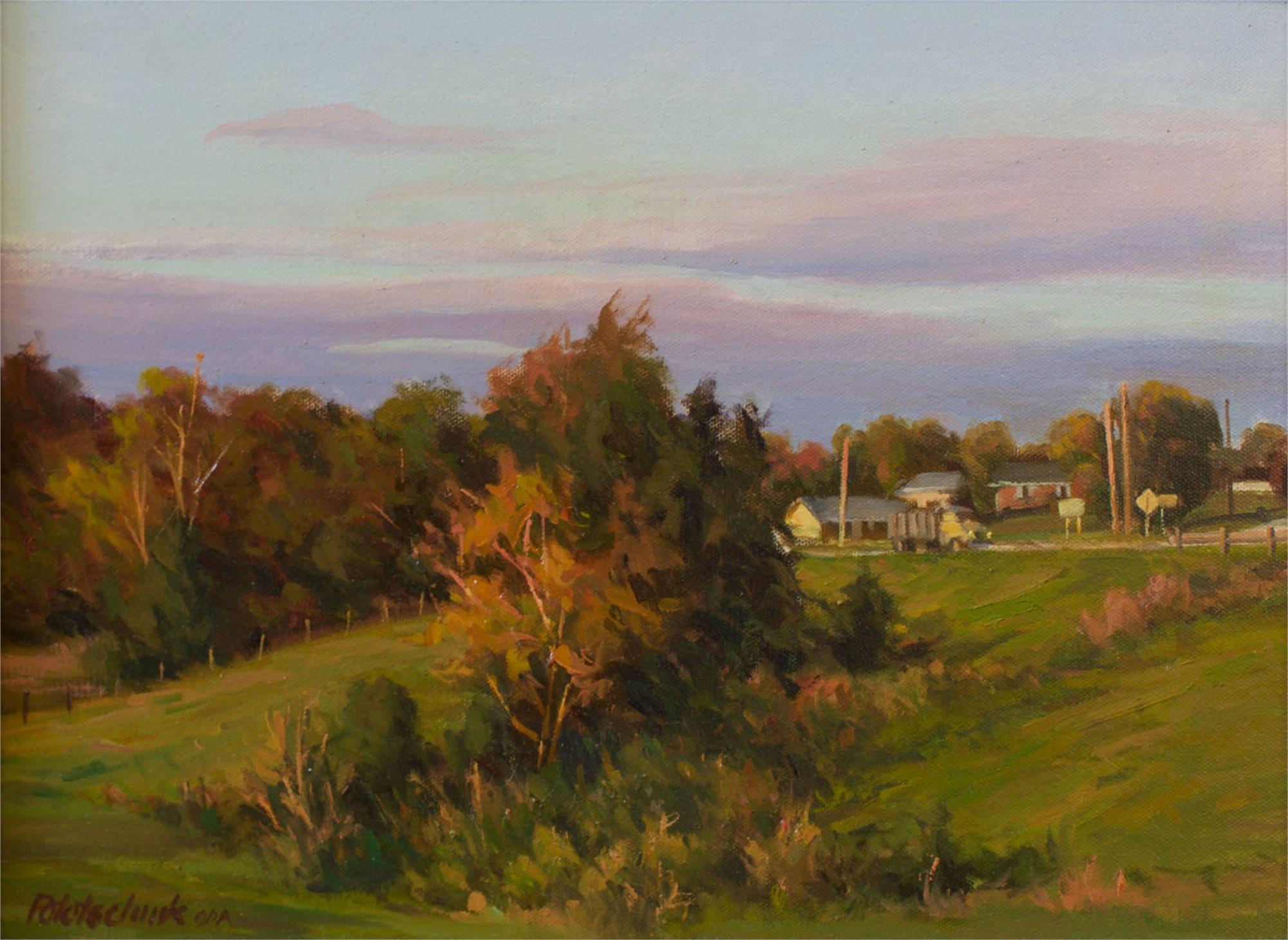 Along the Highway by John Pototschnik