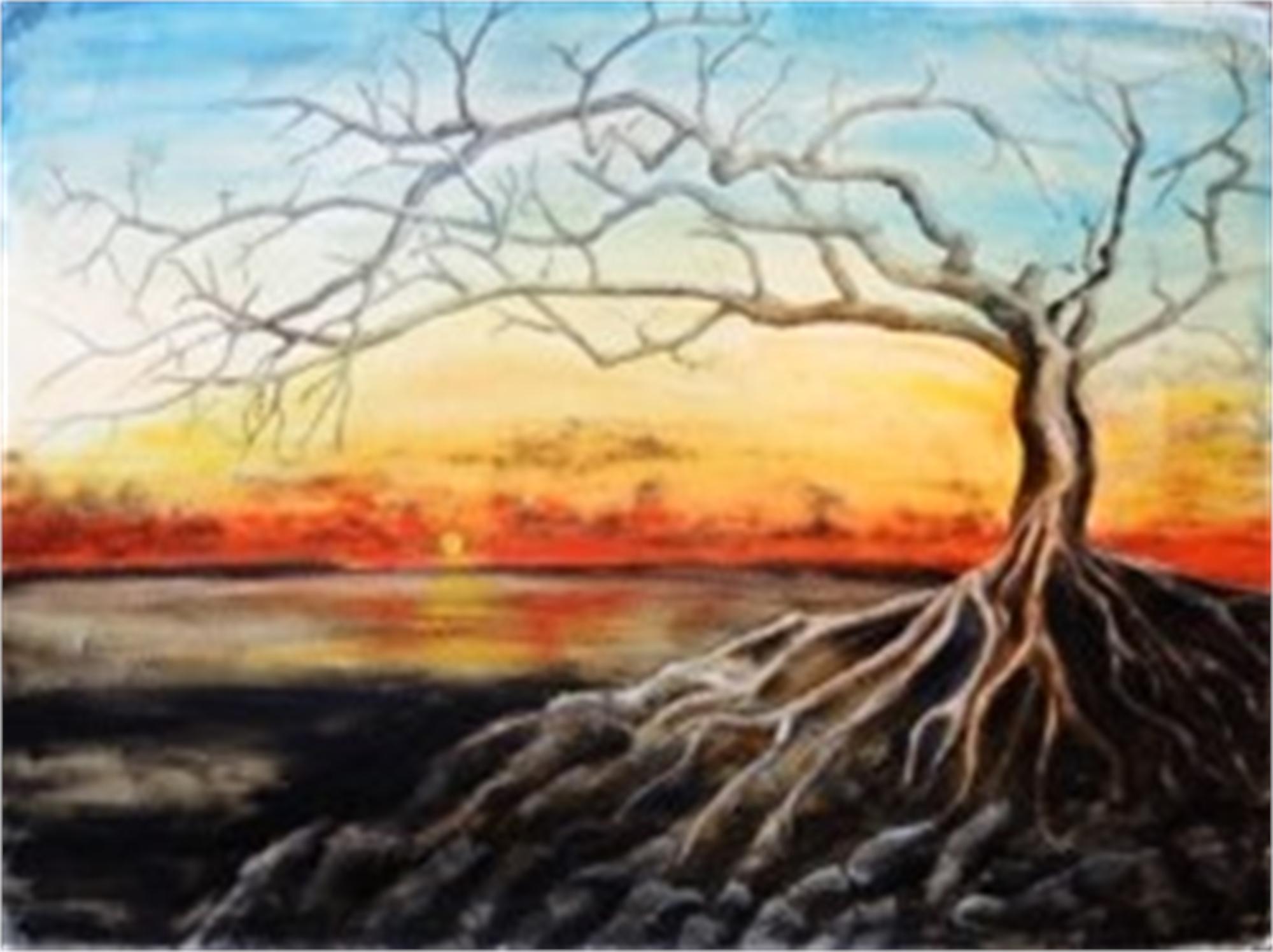 A Tree by the Sea by Nina Vallion (Portland, OR)