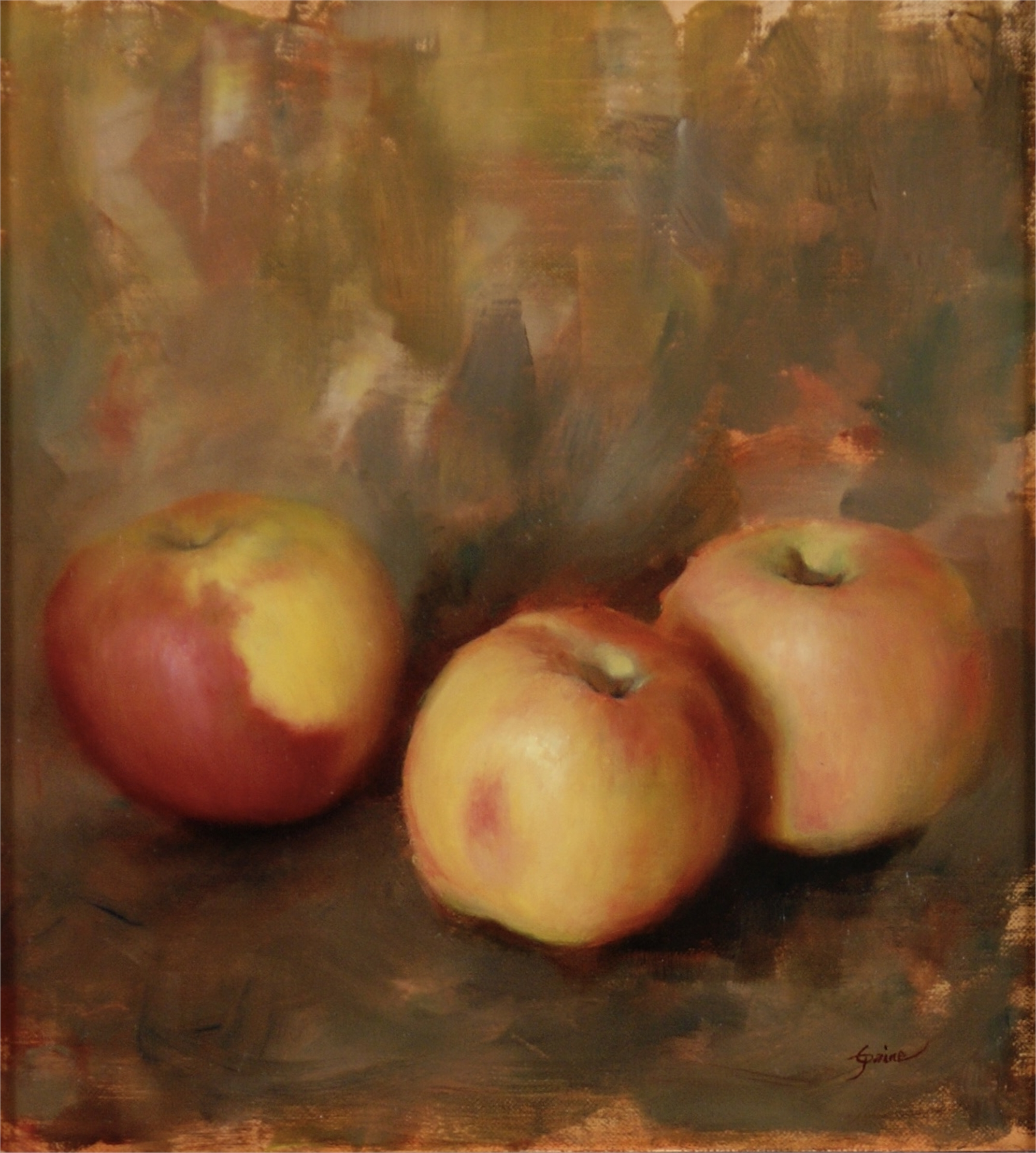 Braeburn Apples by Carla Paine