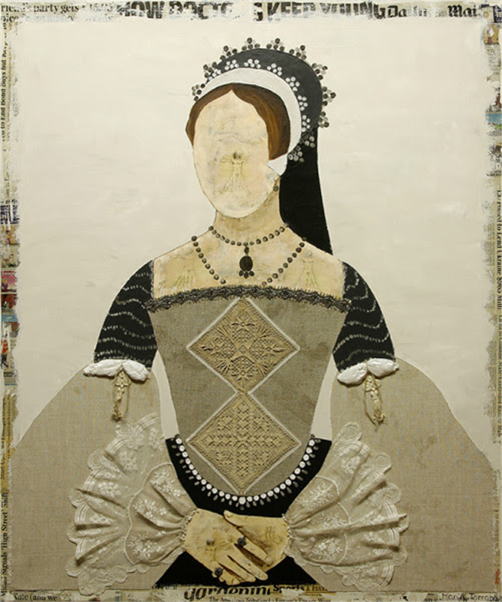 Queen Maria by Maria Torroba