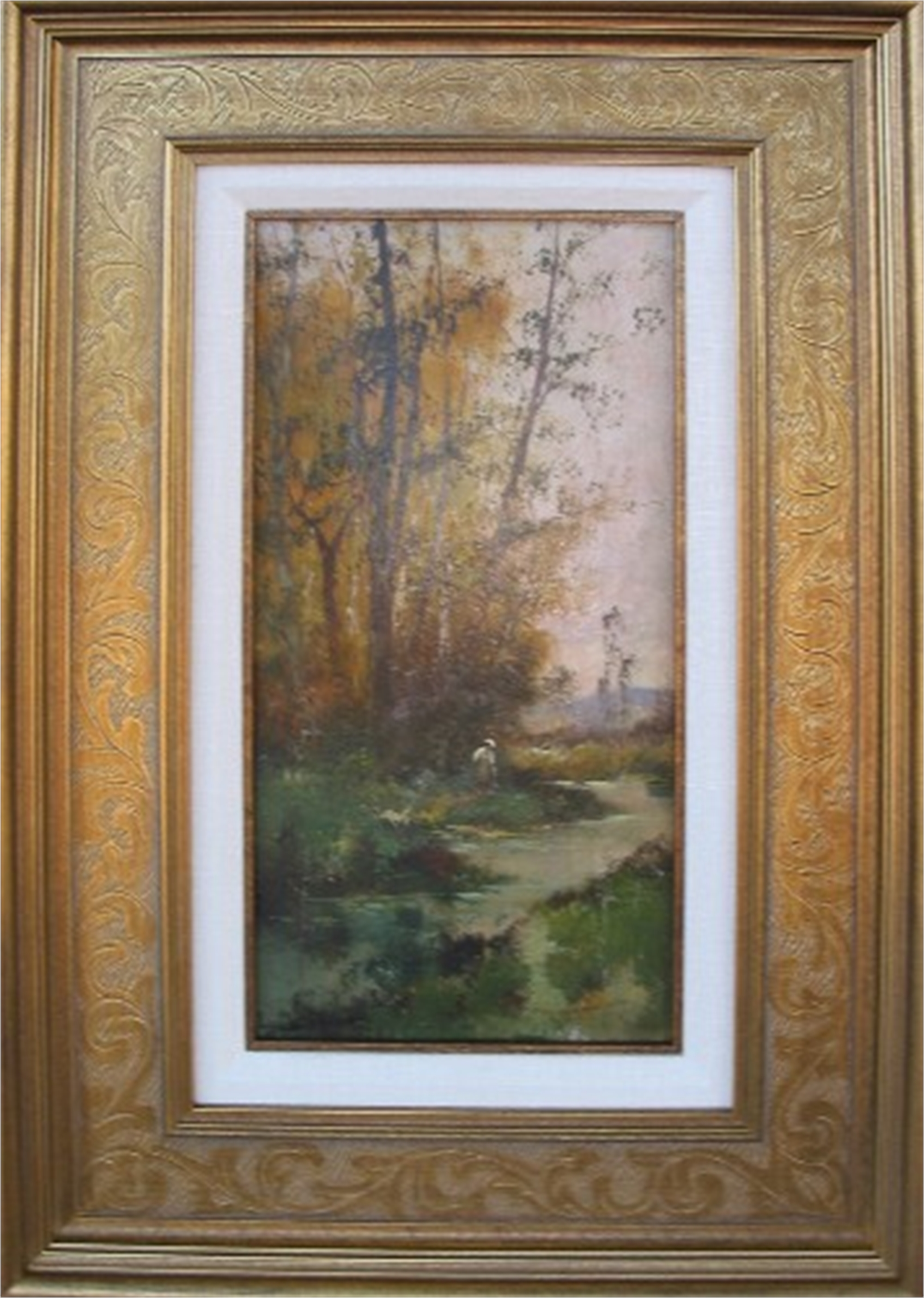 BY THE STREAM FRANCE by GALIEN-LALOUE