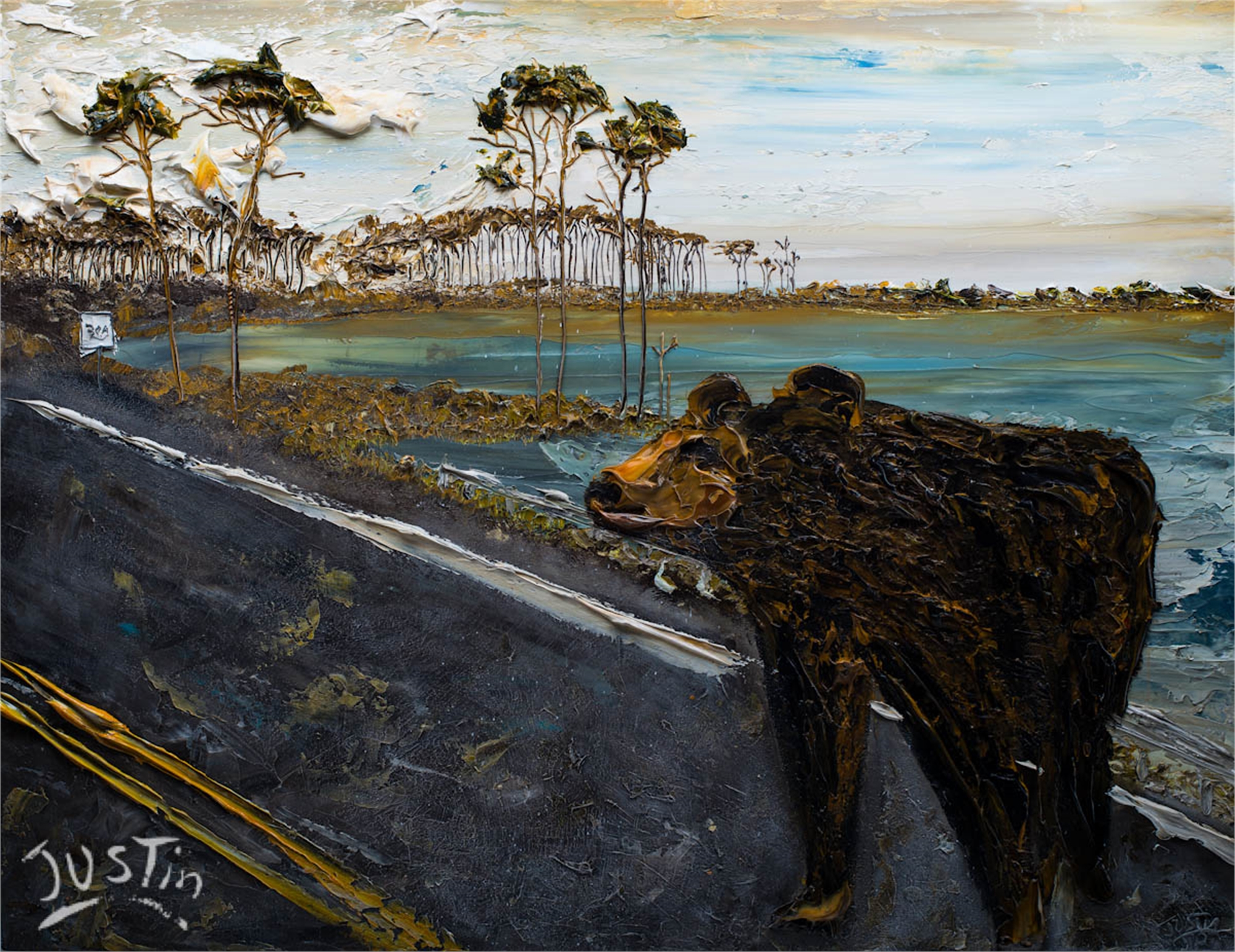 30A BEAR by JUSTIN GAFFREY