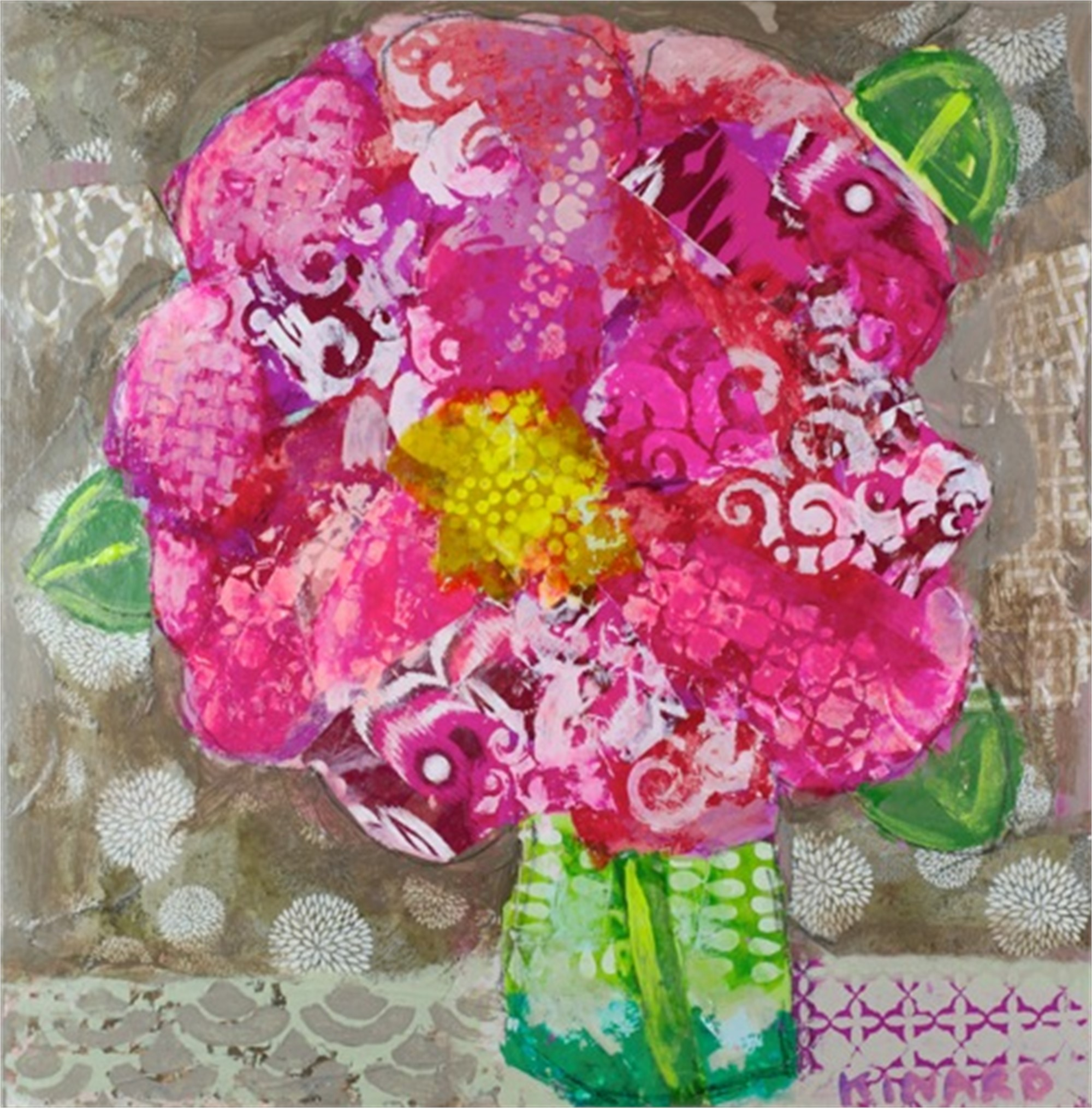 Flowers From Miss Fluffie by Christy Kinard