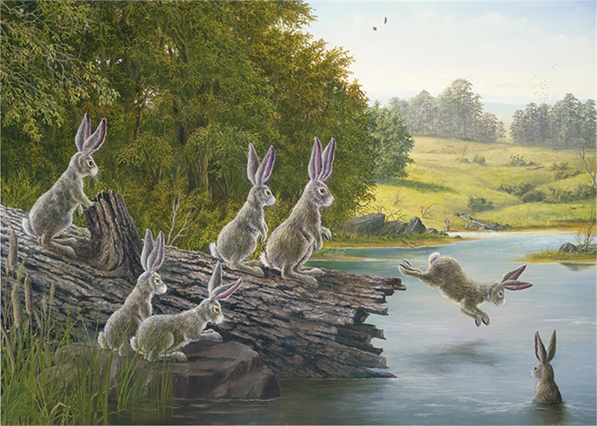 Swimming Hole, The (Collector Edition) by Robert Bissell
