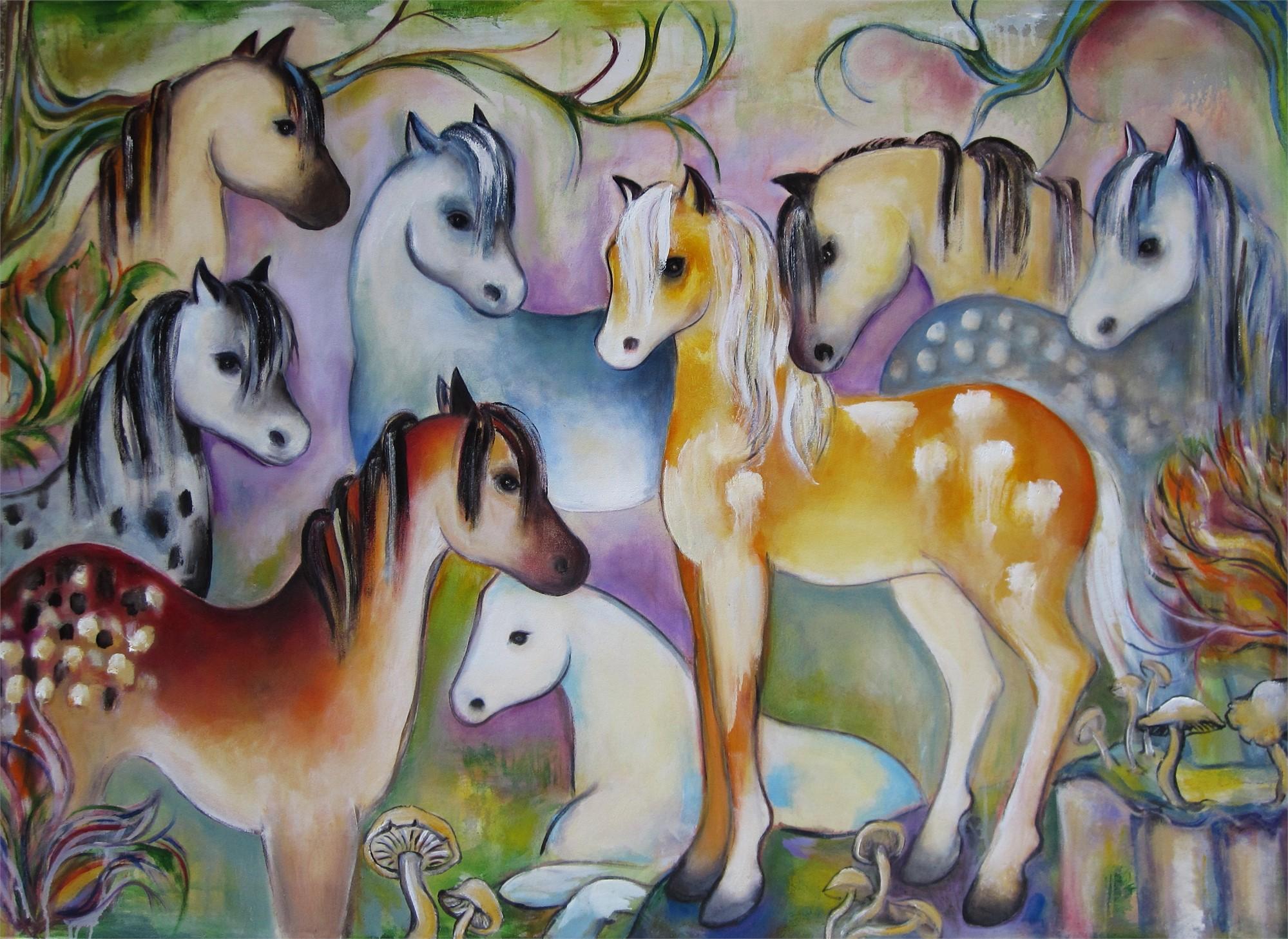Mustangs by Zoa Ace