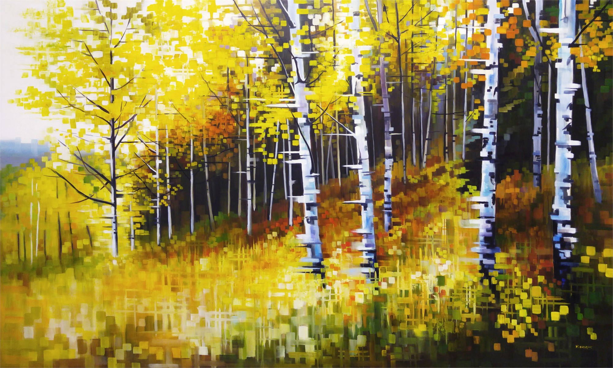 Autumn in the Foothills by Michelle Condrat