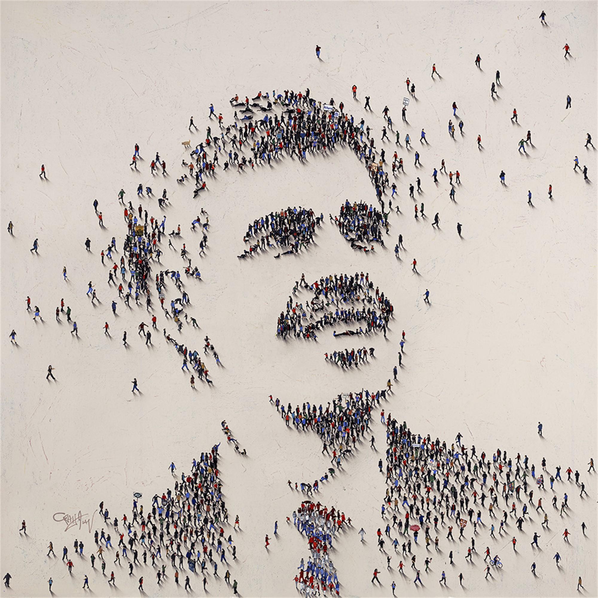 Mohamed A. El-Erian (SOLD) by Populus Commission Craig Alan