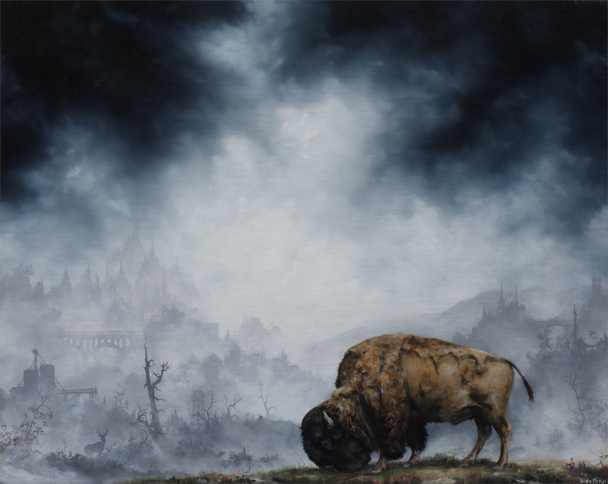 Buffalo by Brian Mashburn