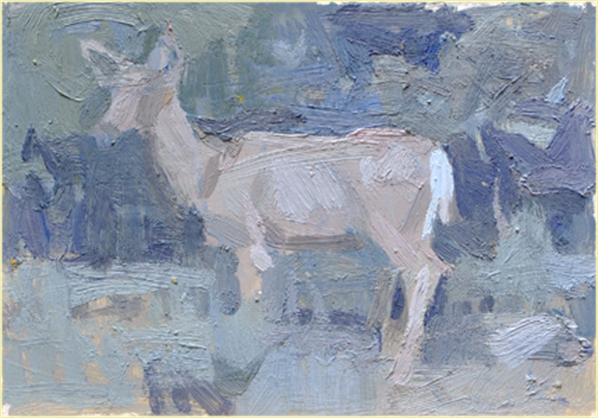 Sage + Deer by Kevin Weckbach