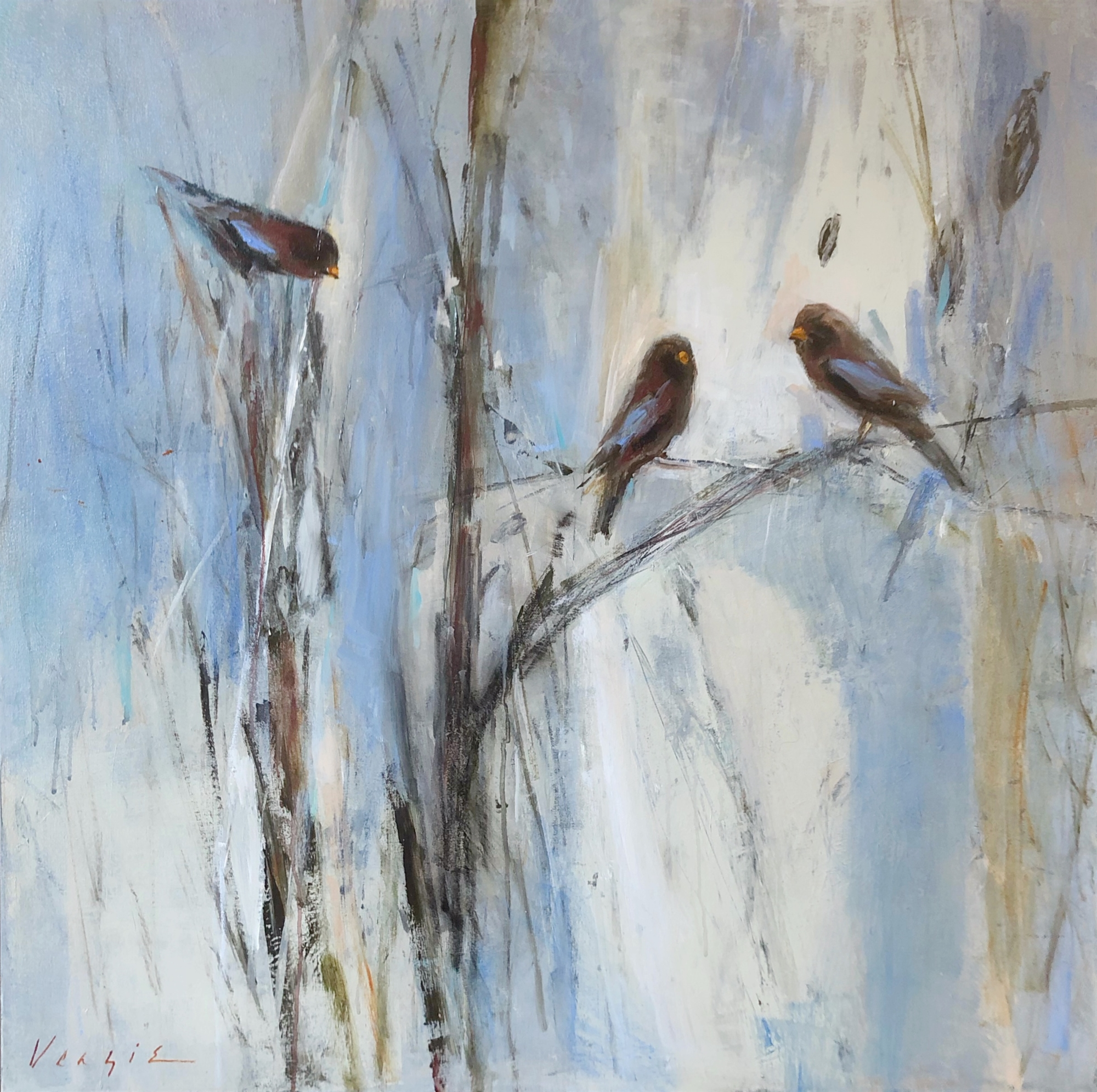 Three's Company by Mary Miller Veazie