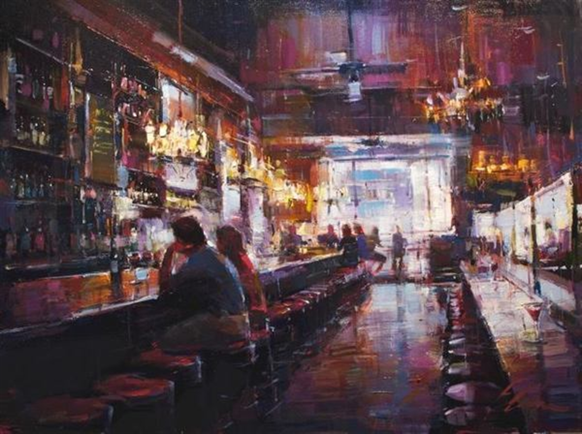 Cocktails at Carmine's by Michael Flohr