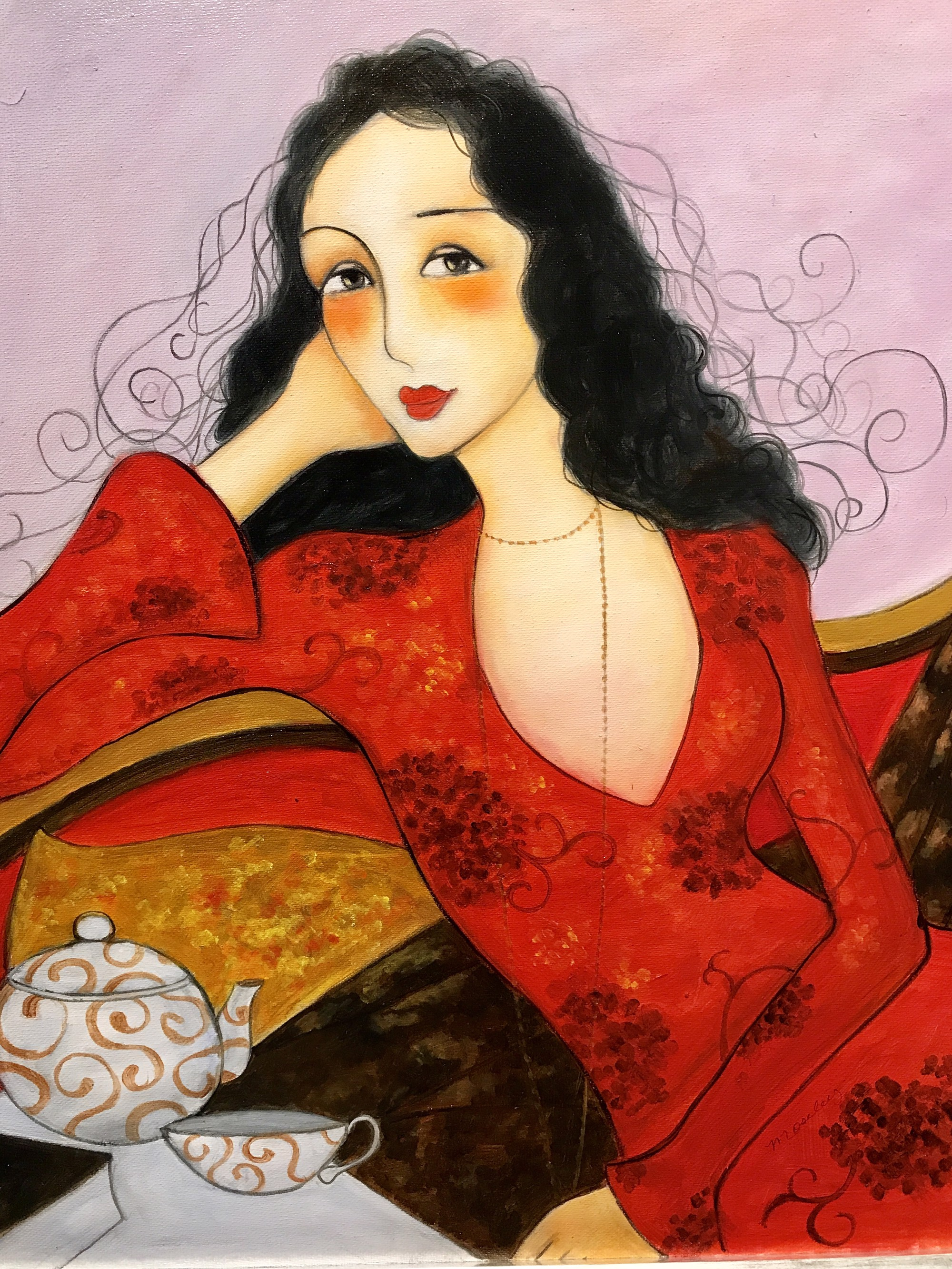 A LADY IN RED by MOSLEY