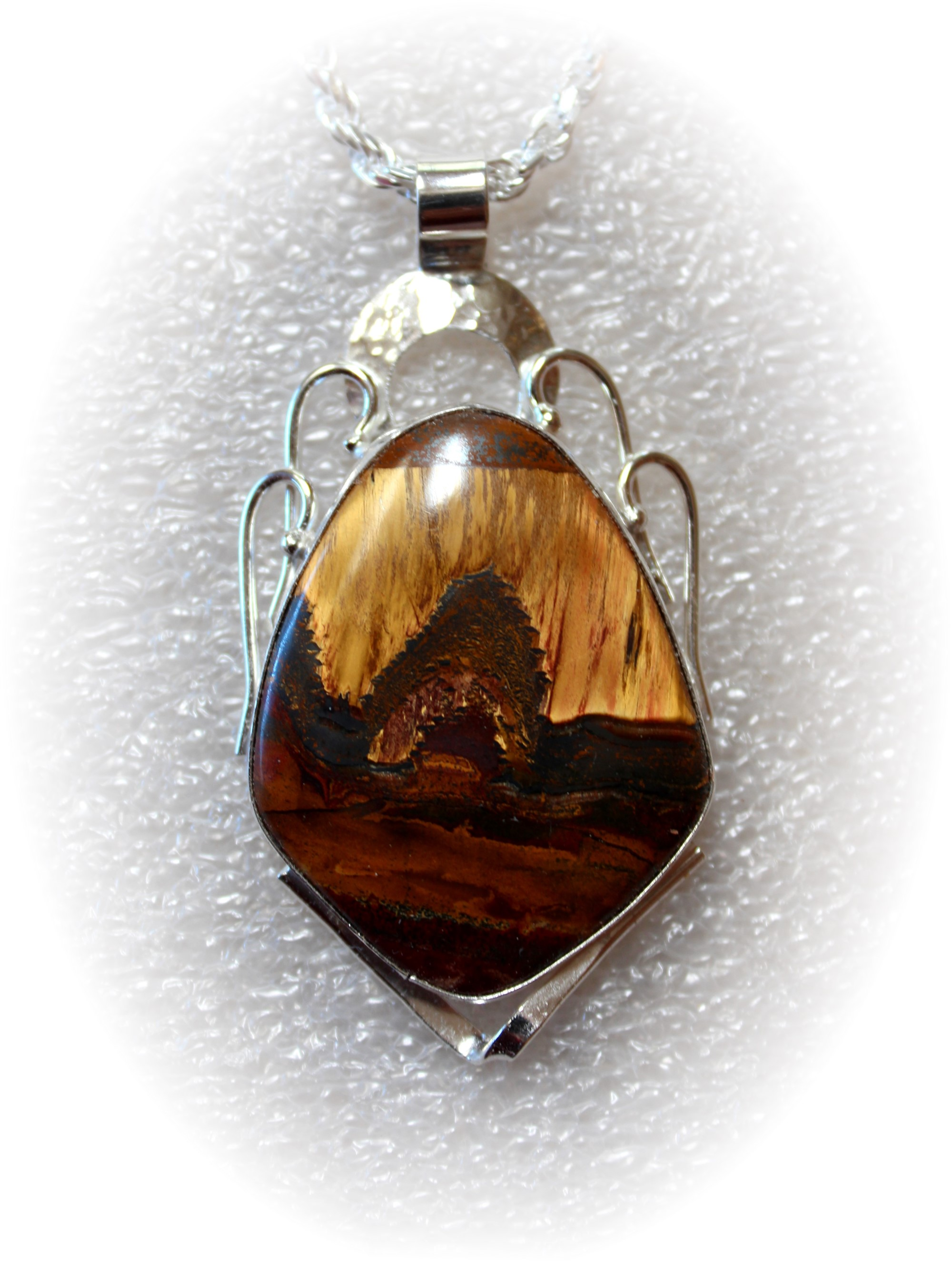 Marramamba Pendant on Sterling Silver Chain by Michael Redhawk