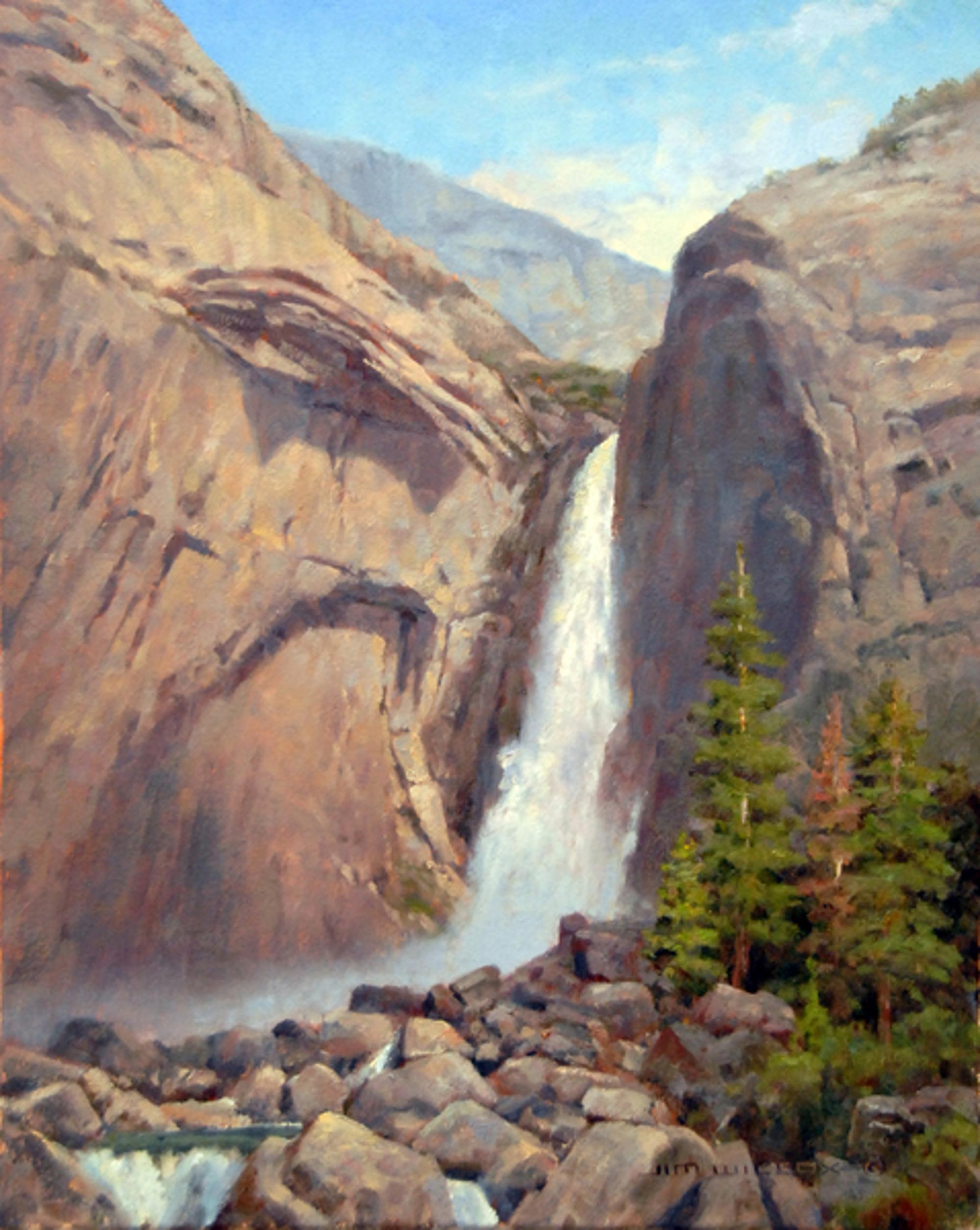 Yosemite Falls by Jim Wilcox