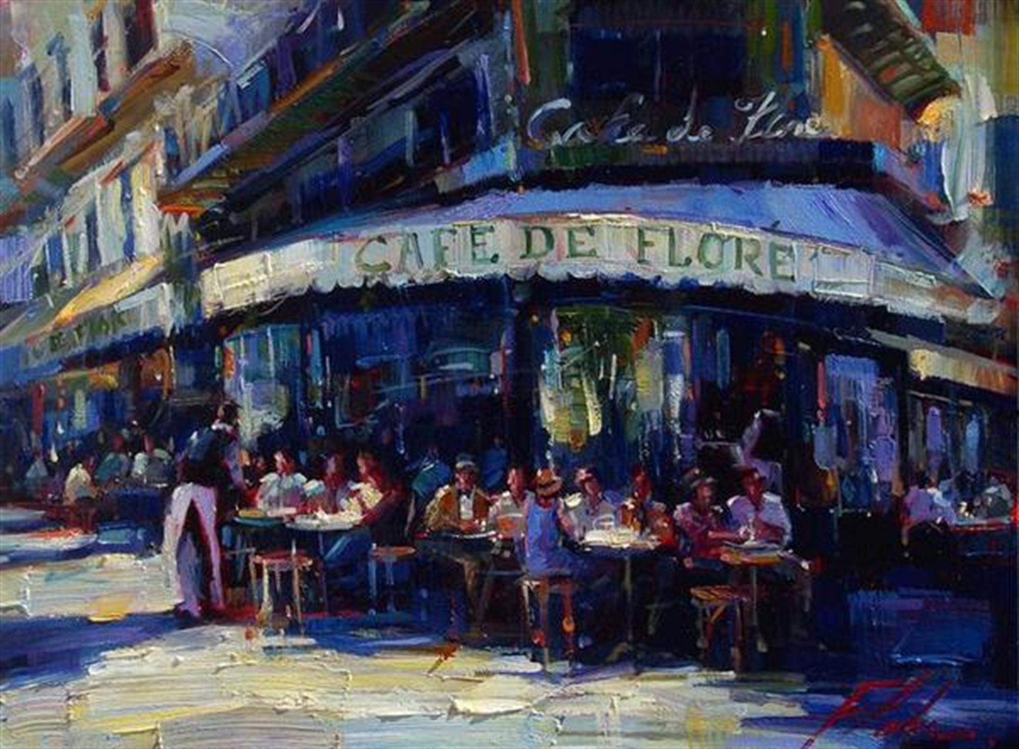 Cafe de Flore by Michael Flohr