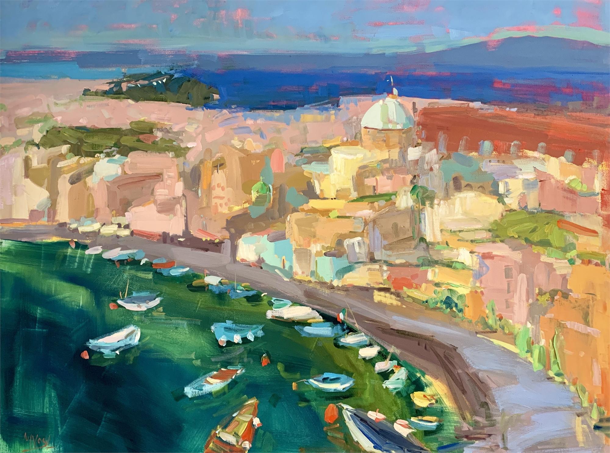 Corricella Bay by Marissa Vogl