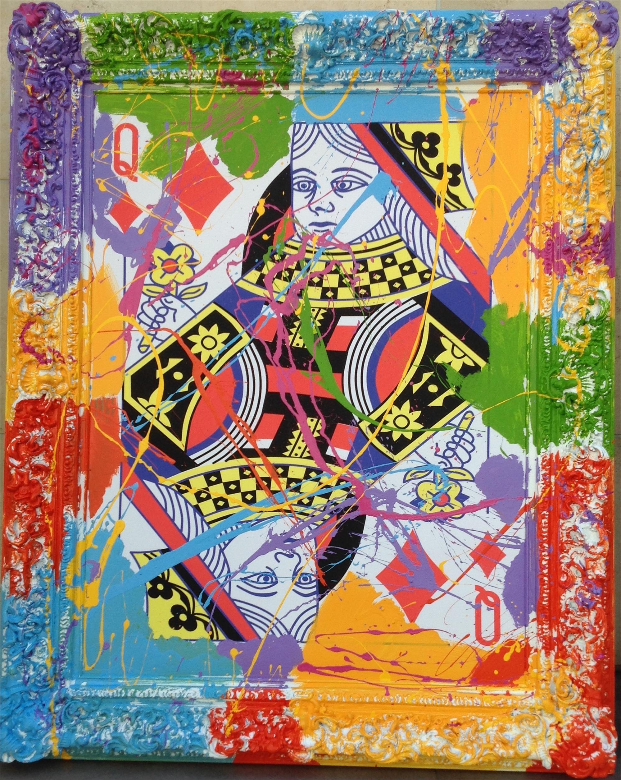 Queen of Diamonds by Elena Bulatova