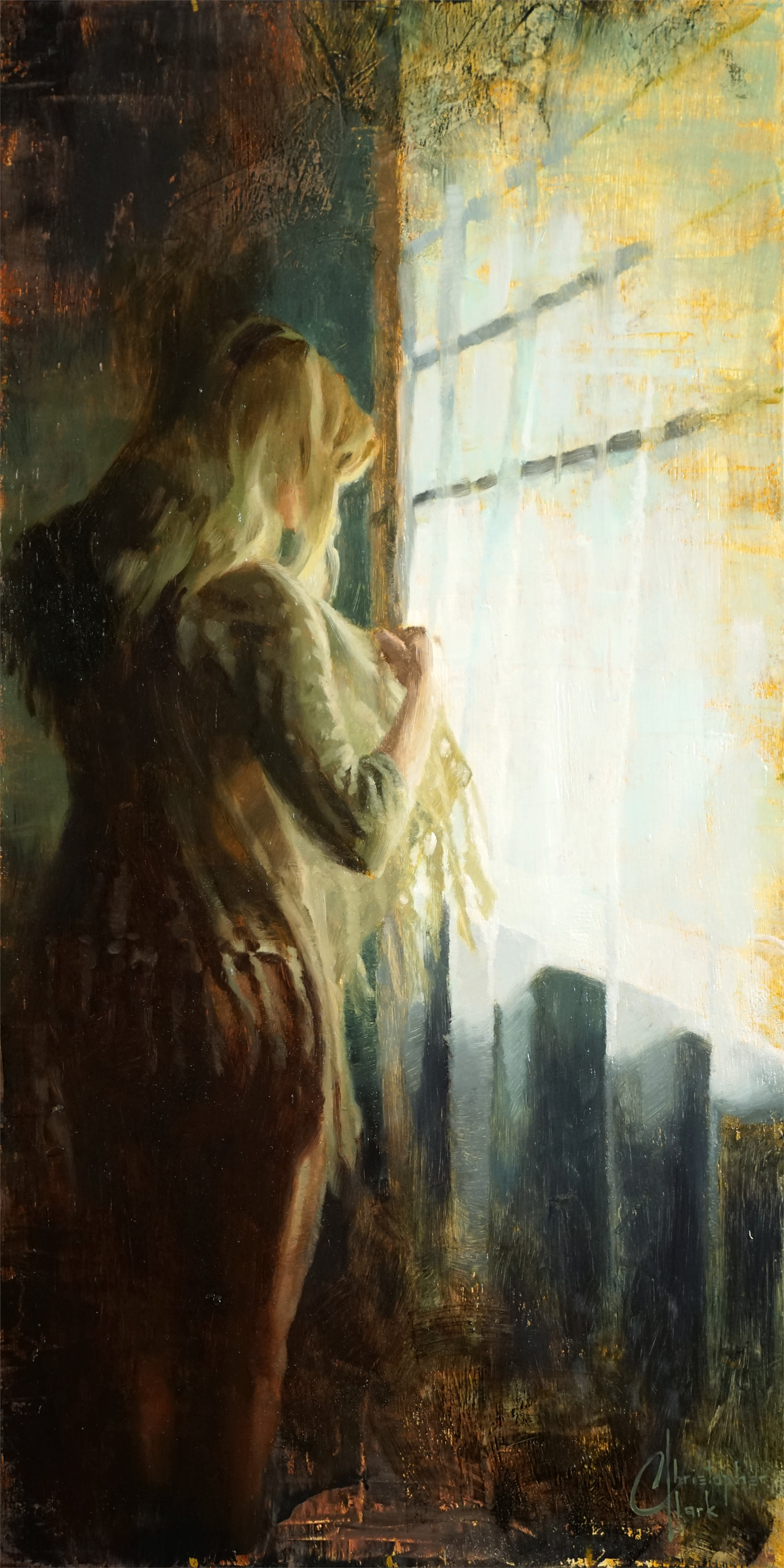 Light From the Window by Christopher Clark