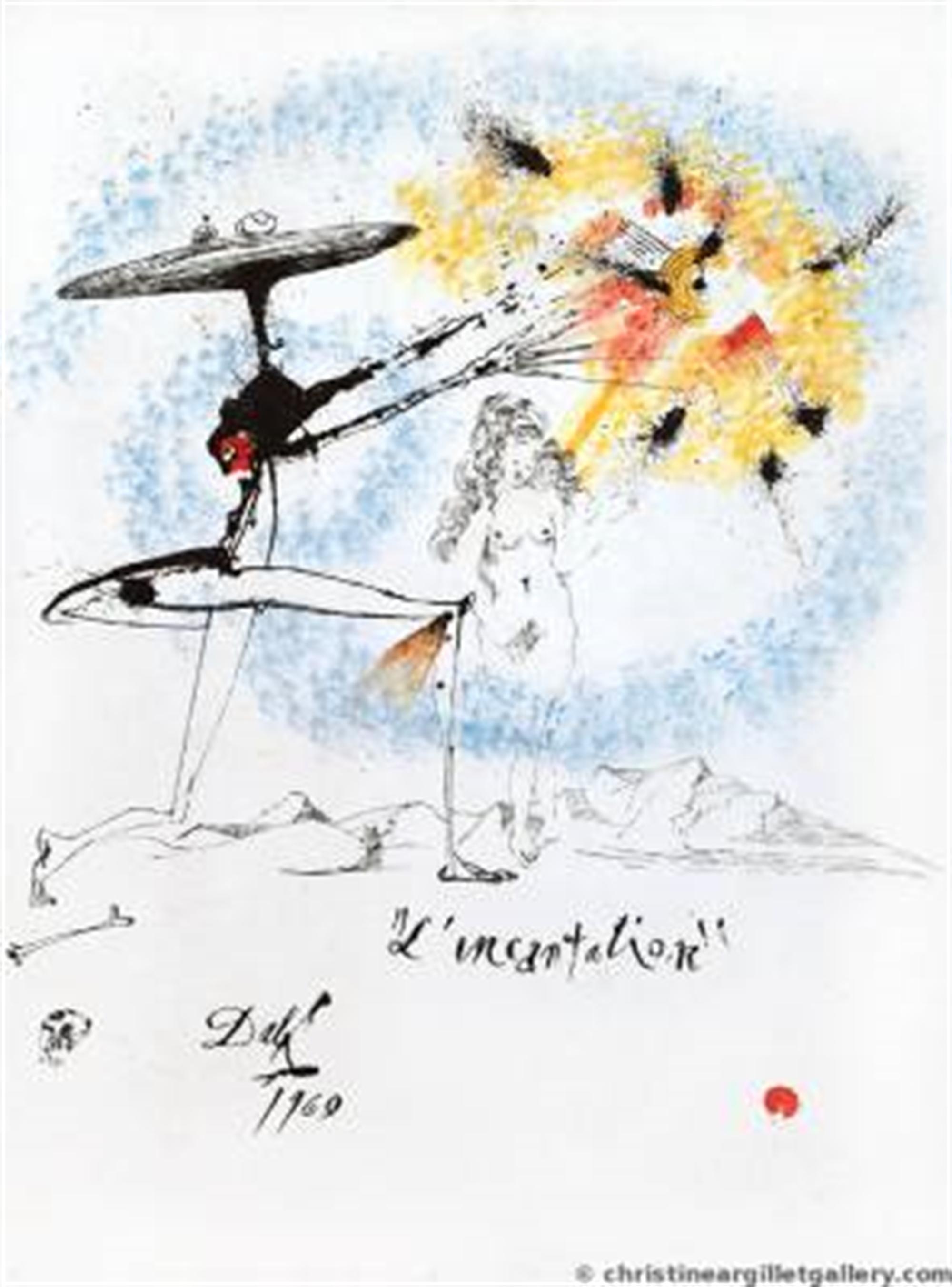 Incantation by Salvador Dali