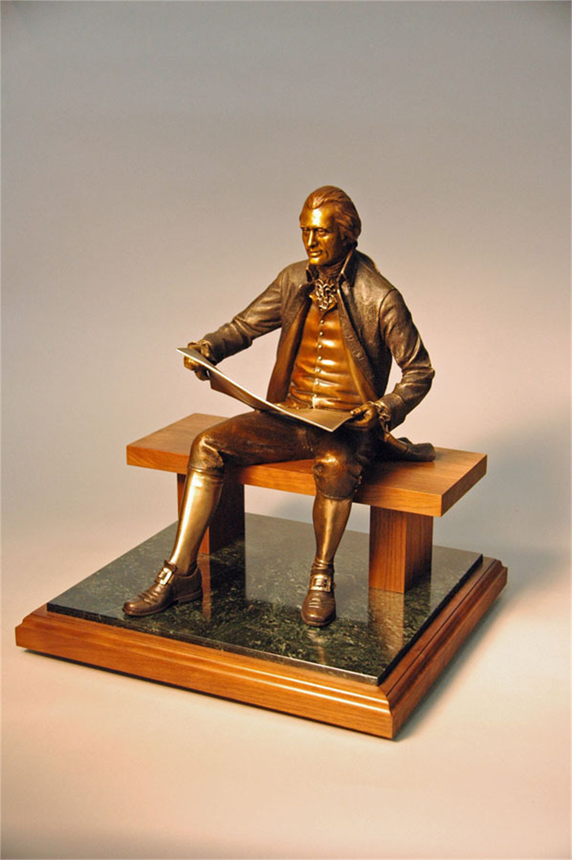 Thomas Jefferson Maquette by George and Mark Lundeen