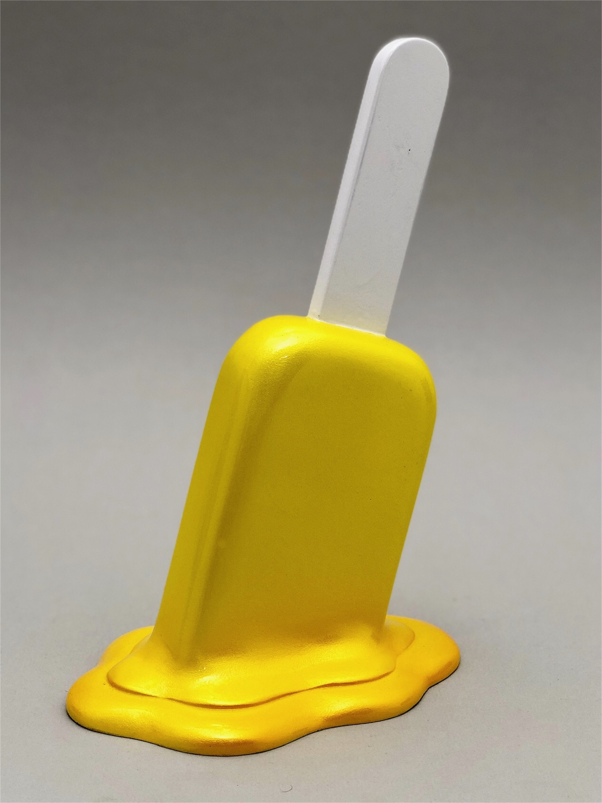 The Sweet Life, small, yellow Popsicle by Elena Bulatova