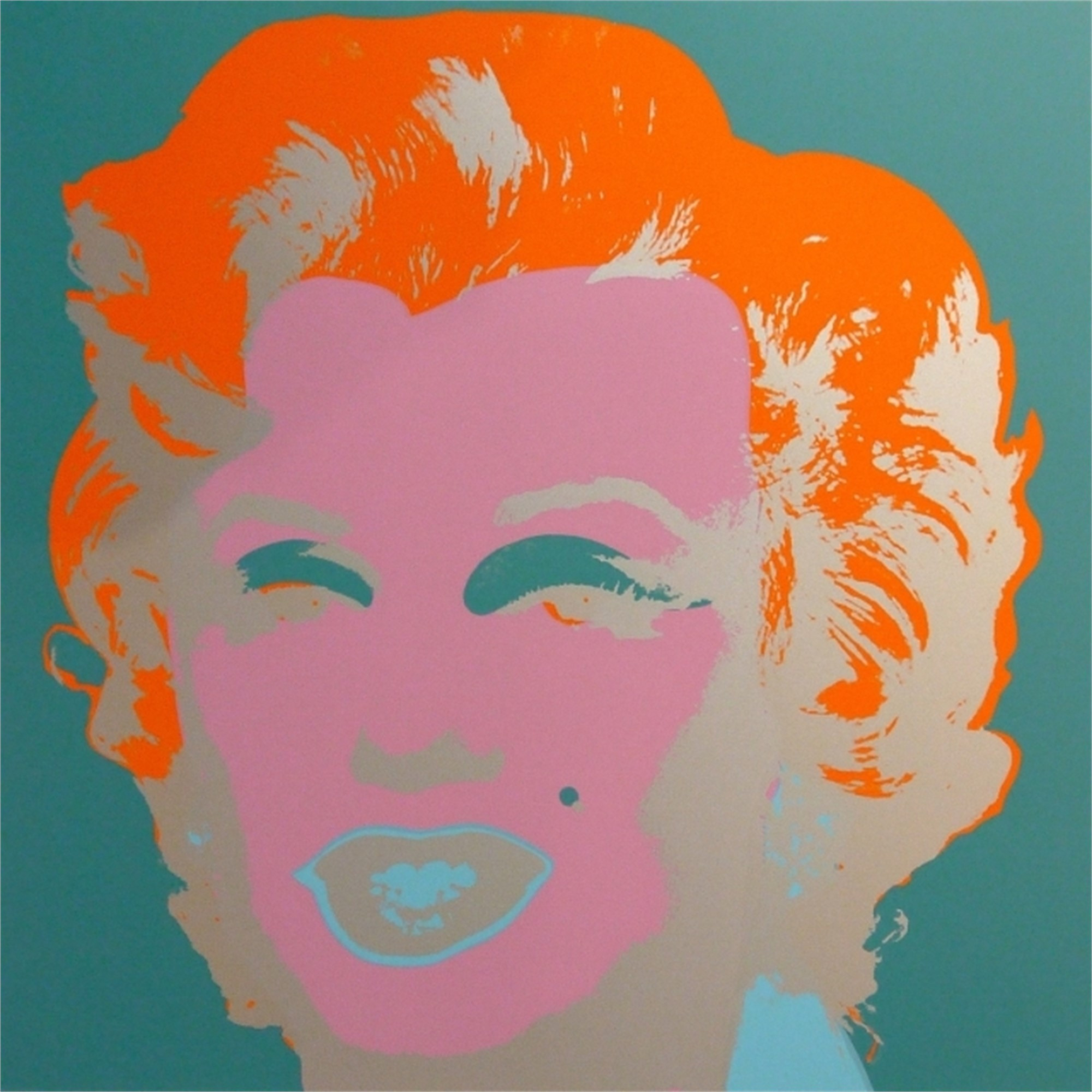 Marilyn 29 From the Sunday B. Morning Edition by Andy Warhol