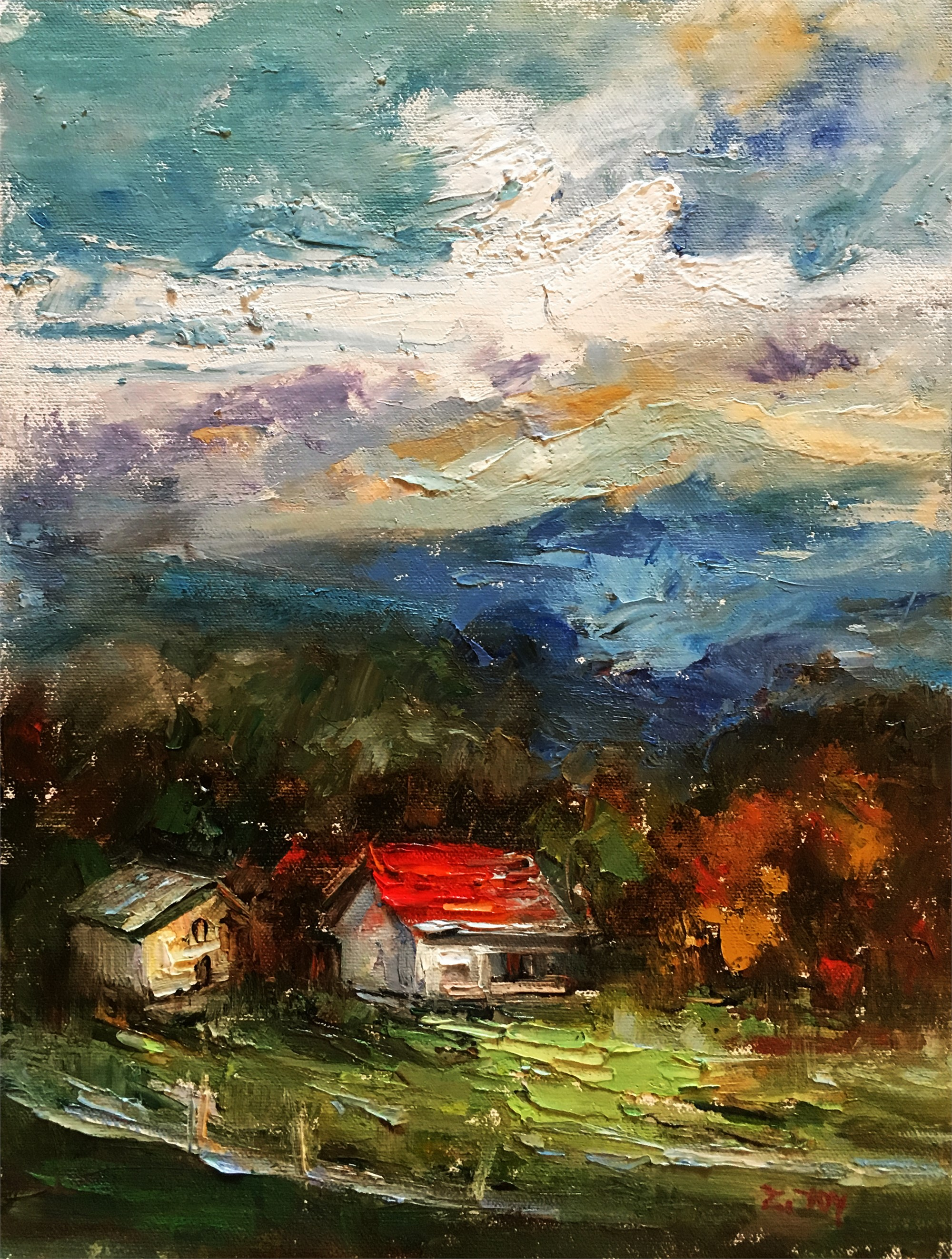 Afternoon Sky by JOY
