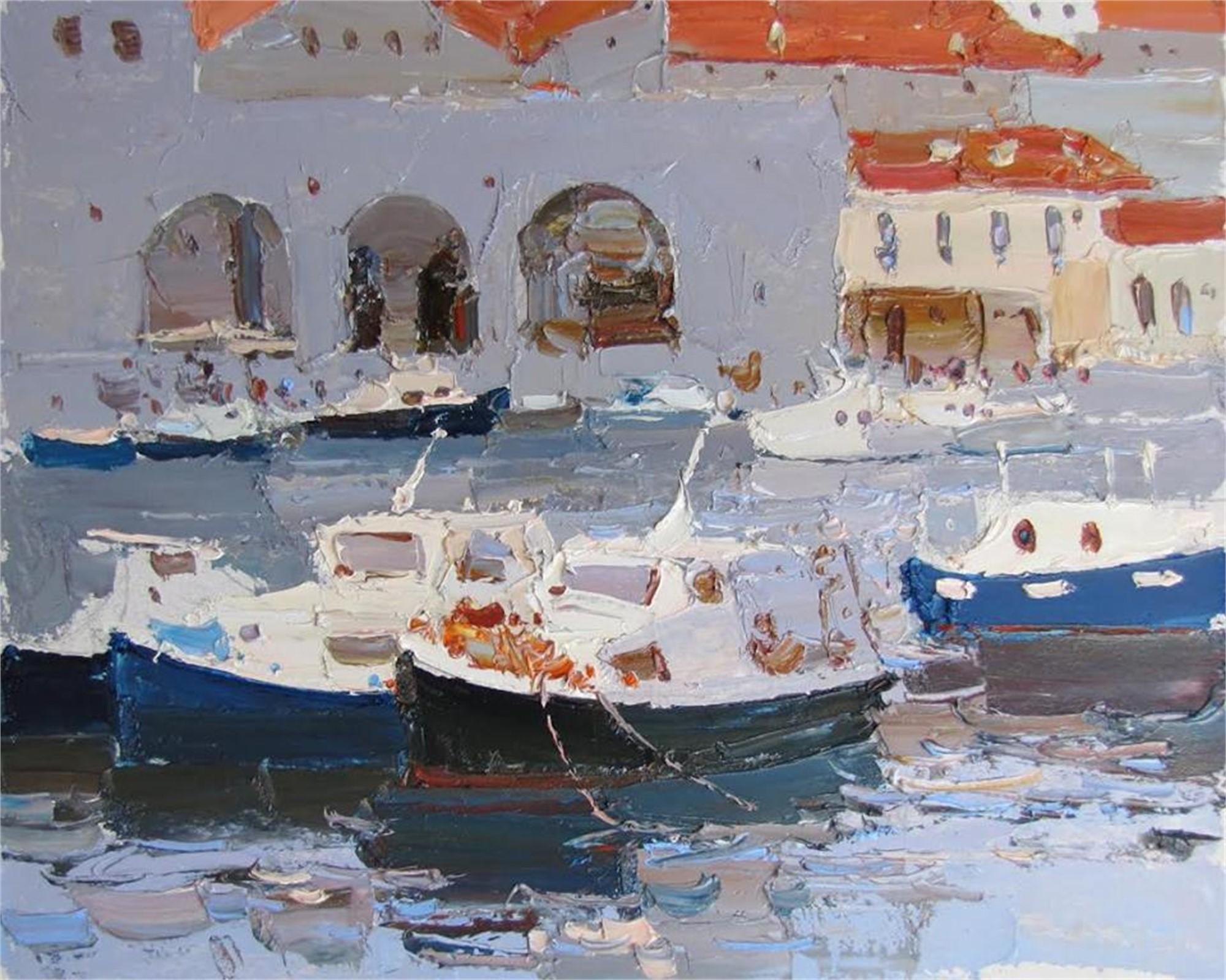 Boats by Daniil Volkov