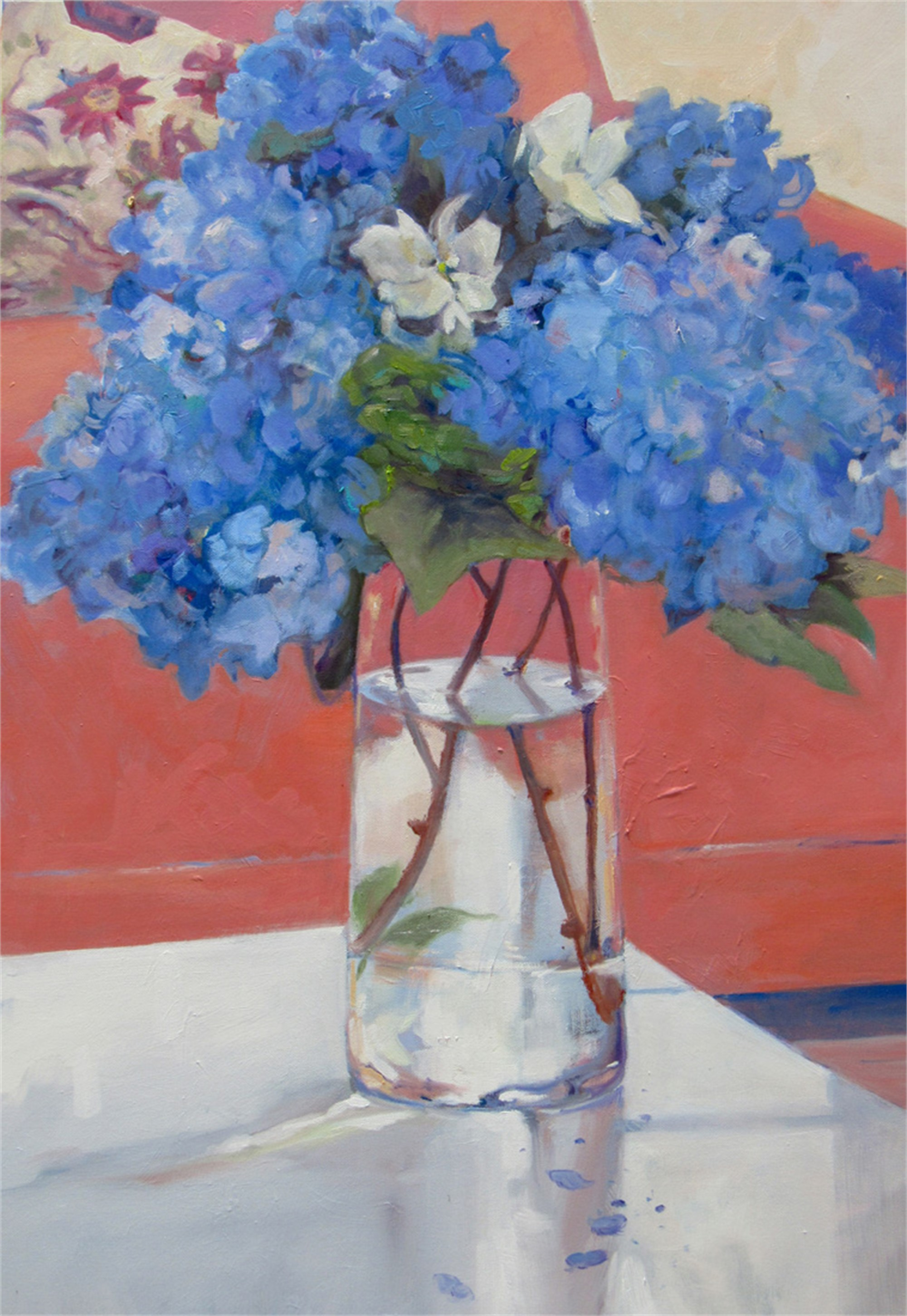 Hydrangeas and Rhododendrons by Madeline Dukes