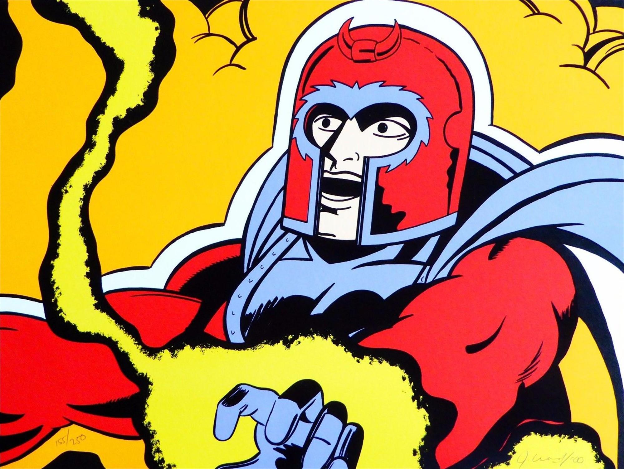 """X-Men (Magneto) by John """"Crash"""" Matos"""
