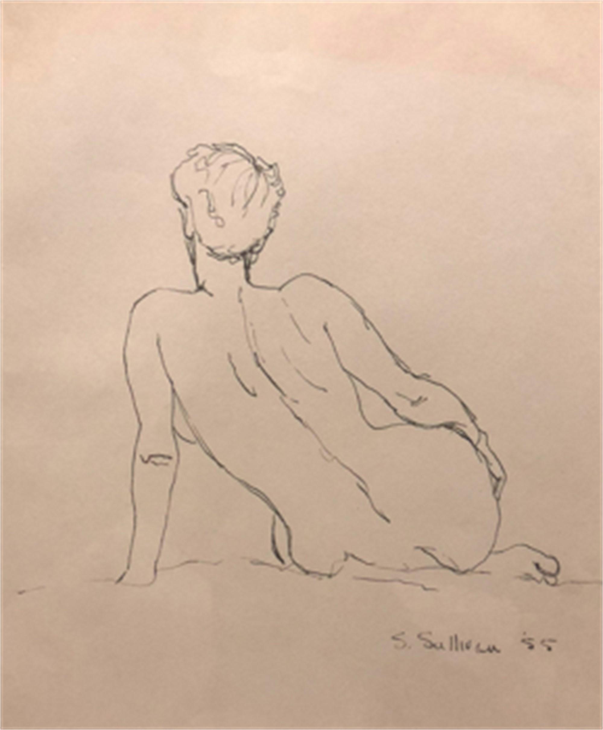 Nude Sketch 2 by Stella Sullivan