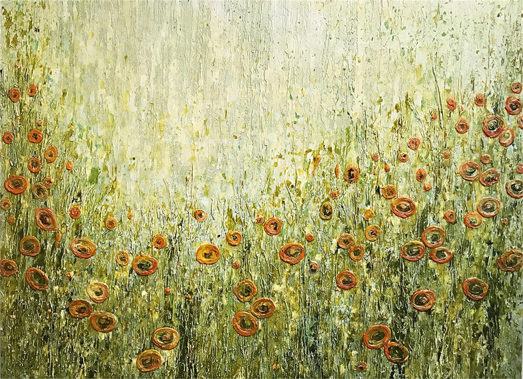 Orange Poppies by Susan Nuttall