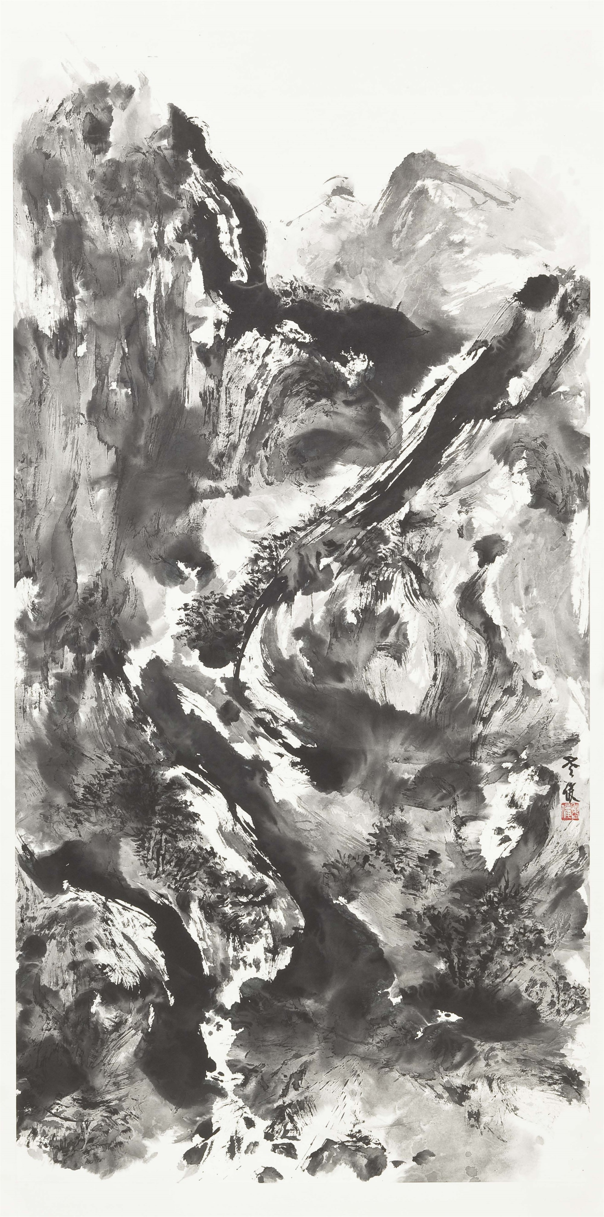 LANDSCAPE 3 by Xiaojun Zeng