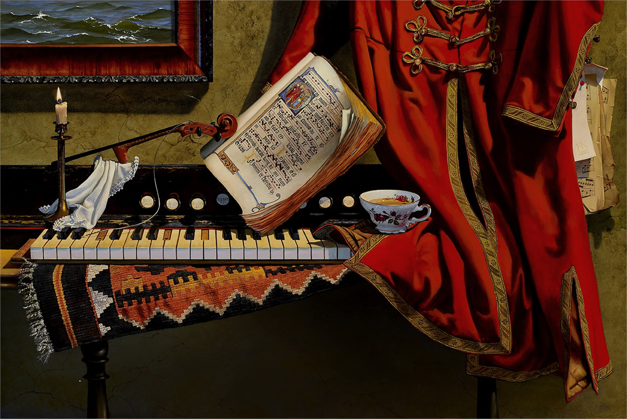 Organist's Daughter by Heather Neill