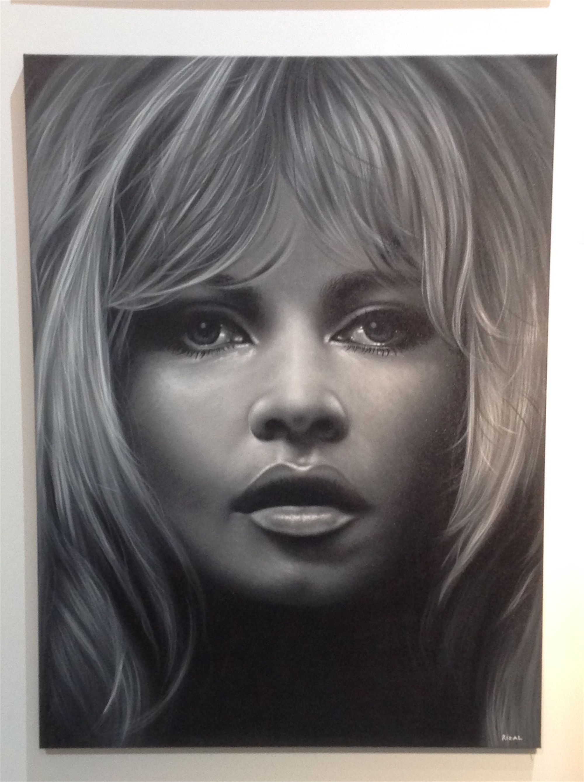 """Celebrity Series"" Brigitte Bardot by Ismed Rizal"